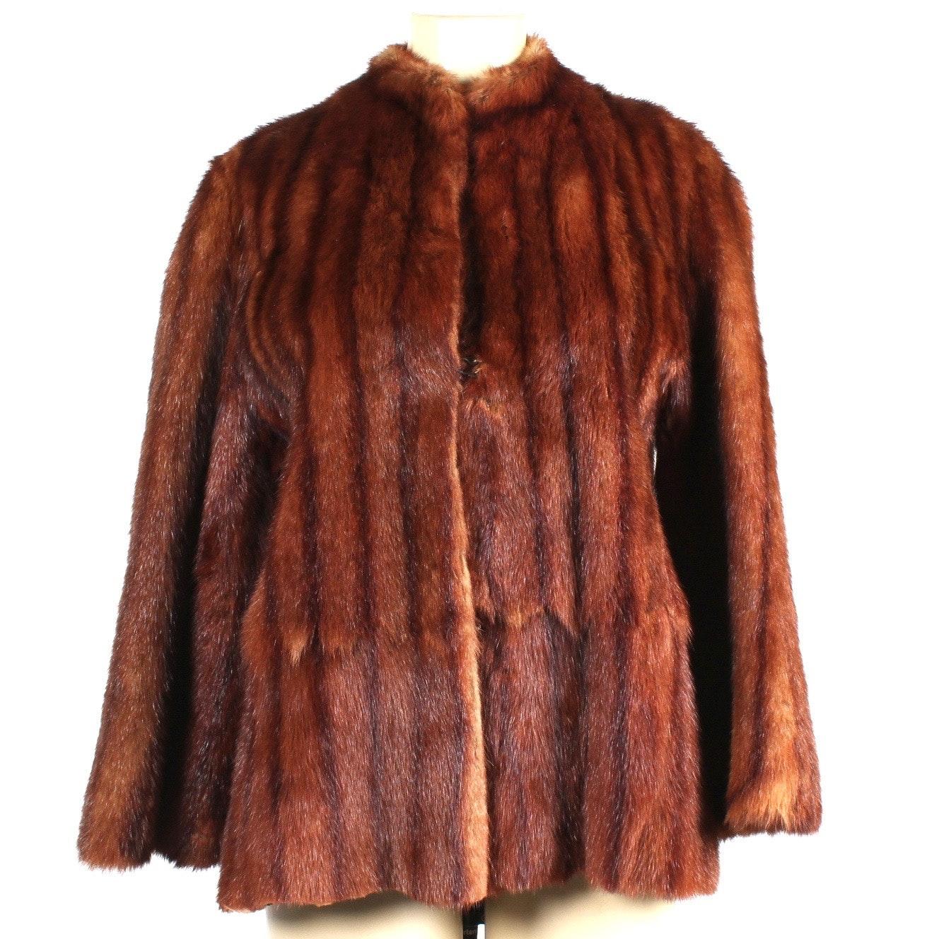 Vintage Marmot Fur Coat from Margo Furs