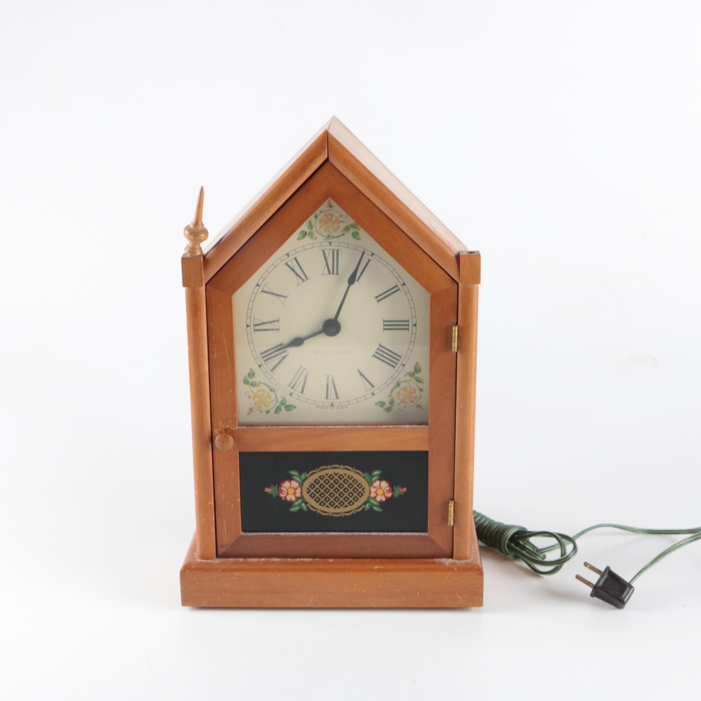 Seth Thomas Mid Century Mantel Clock