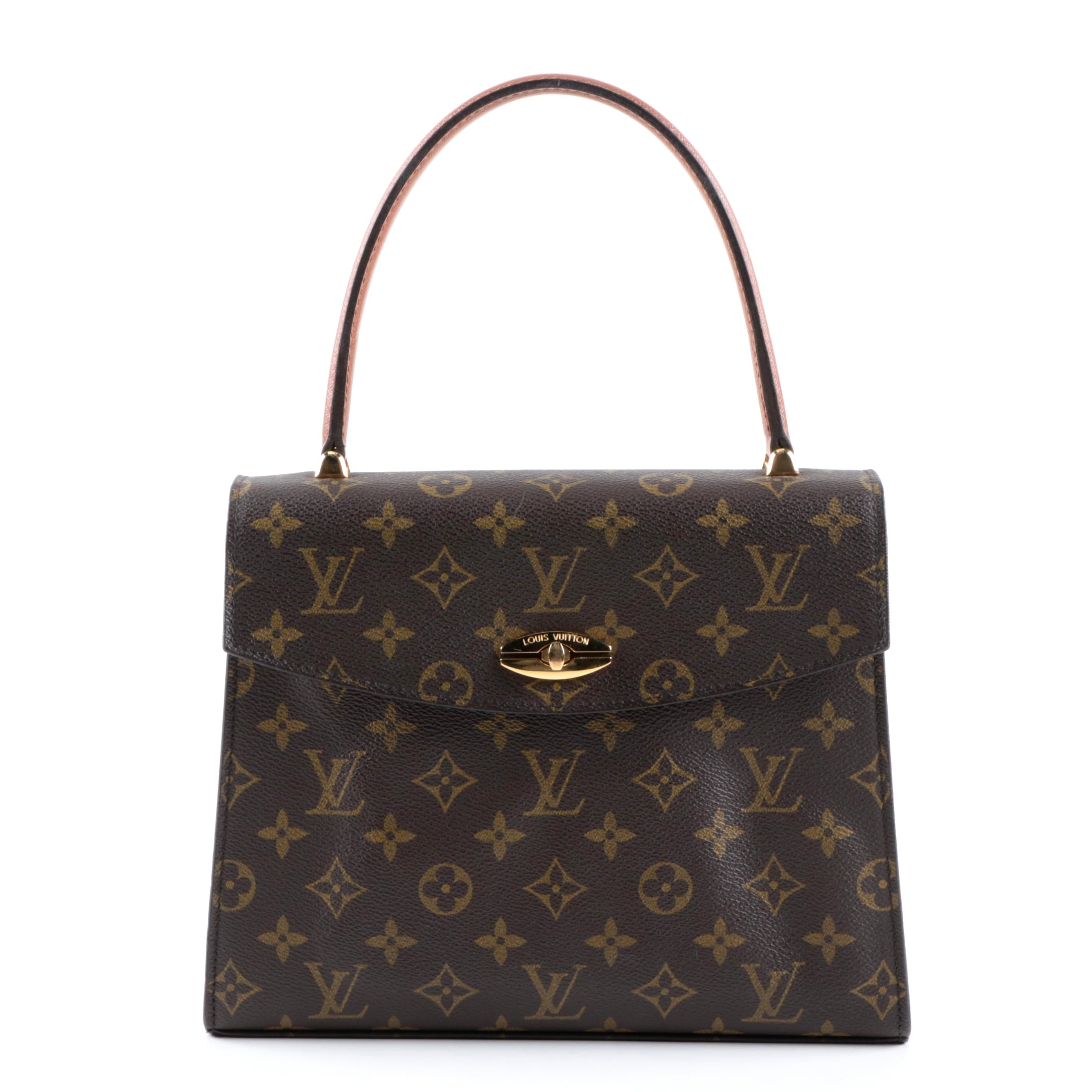 VIntage Louis Vuitton Malesherbes Monogram Canvas Satchel