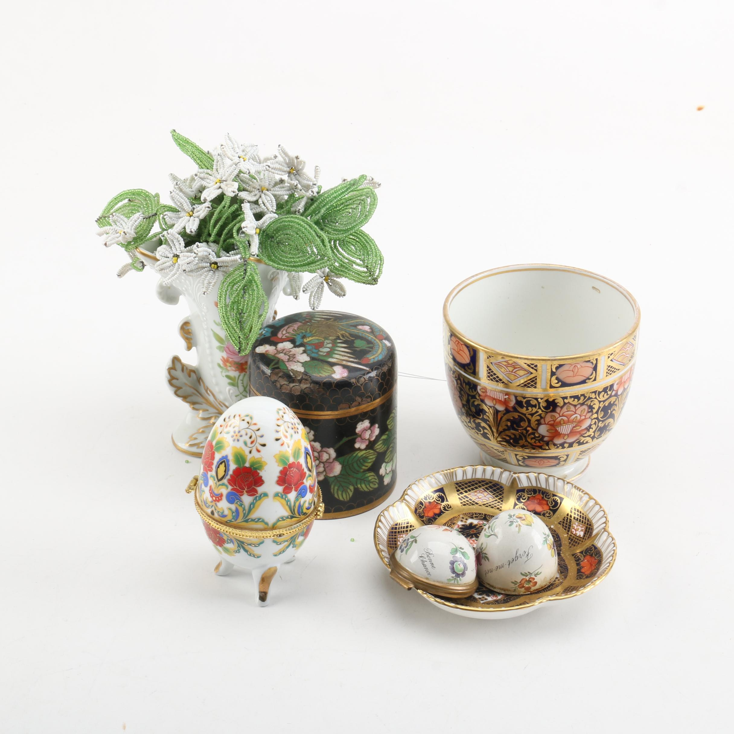 Cartier, Limoges and Royal Crown Derby Décor