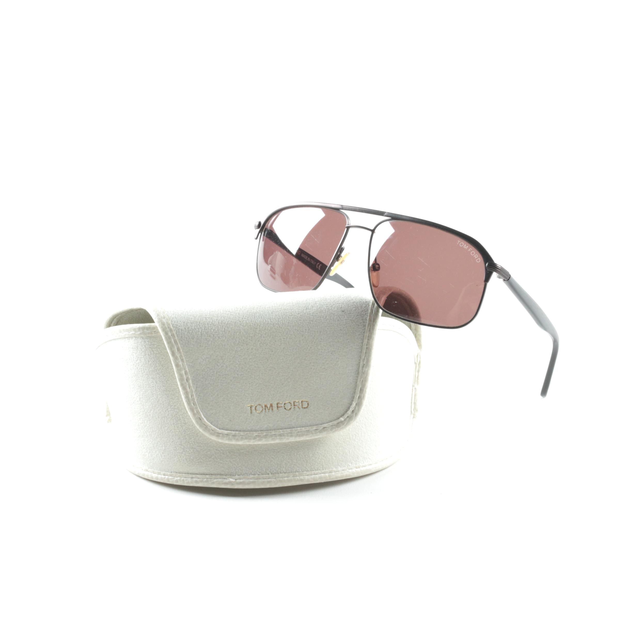 Tom Ford Connor Aviator Sunglasses