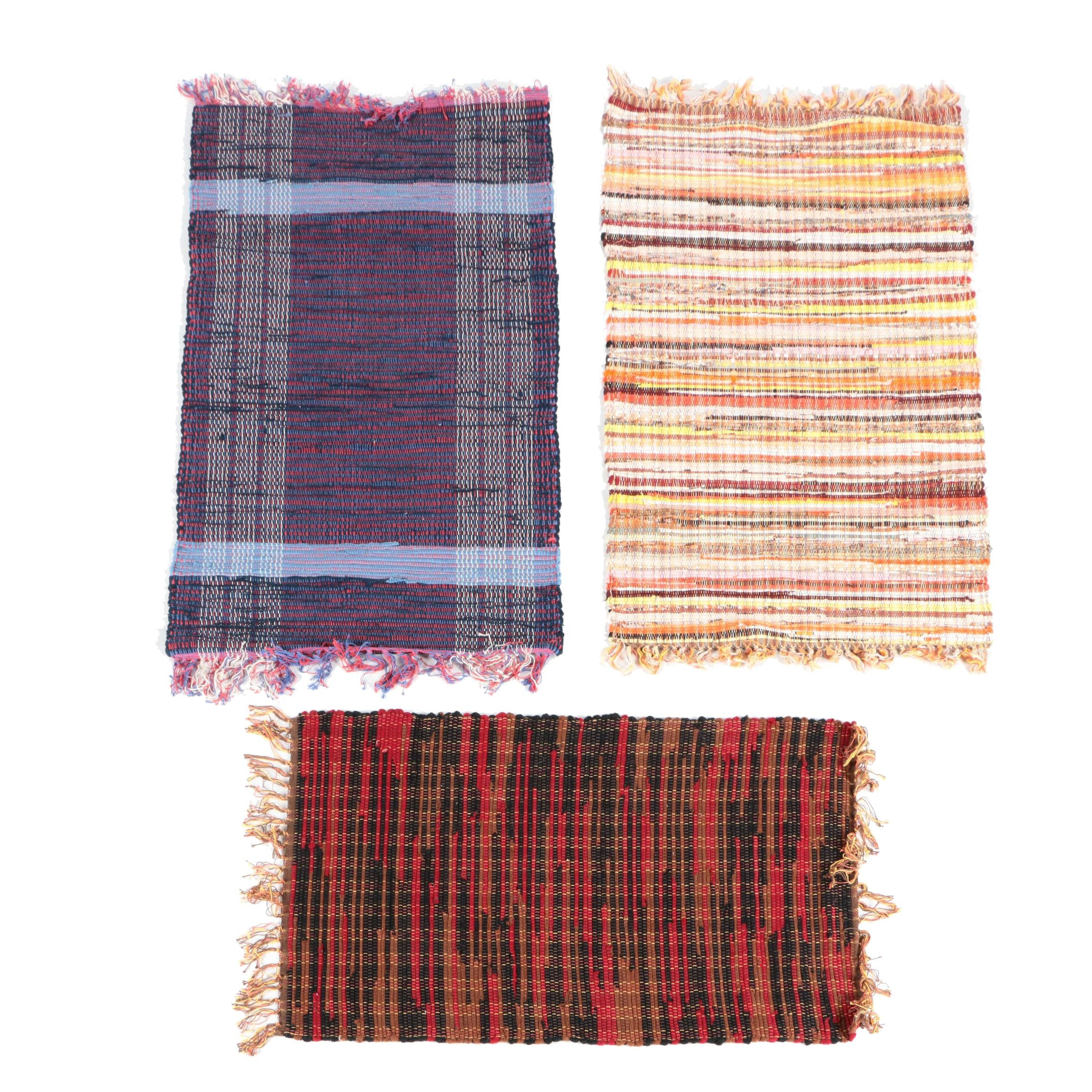Handwoven Scatter Rugs