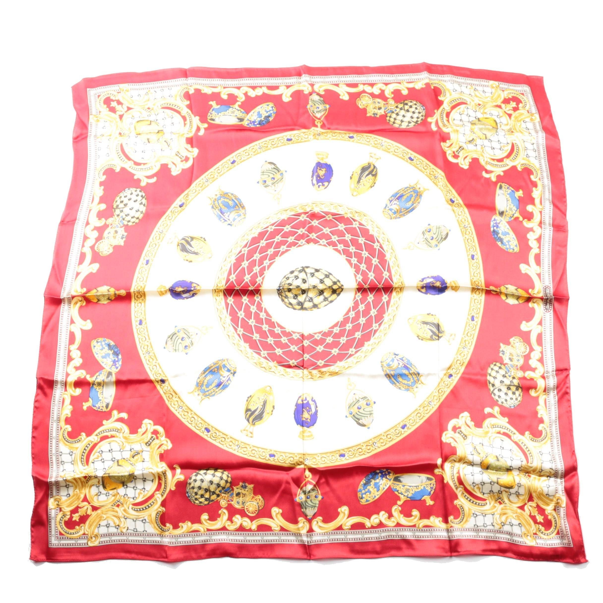 Echo Faberge Silk Scarf
