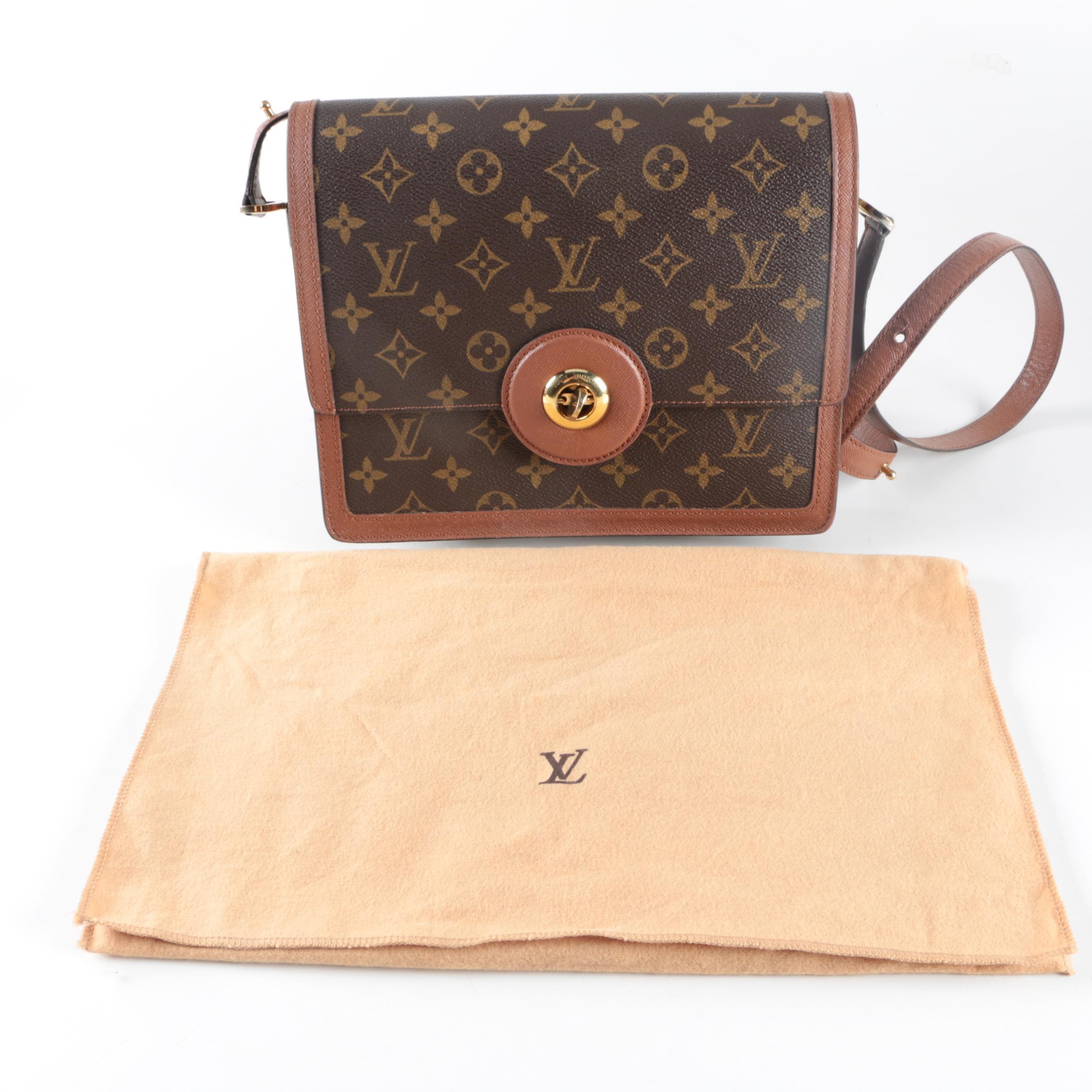 Louis Vuitton Monogram Canvas Raspail Shoulder Bag