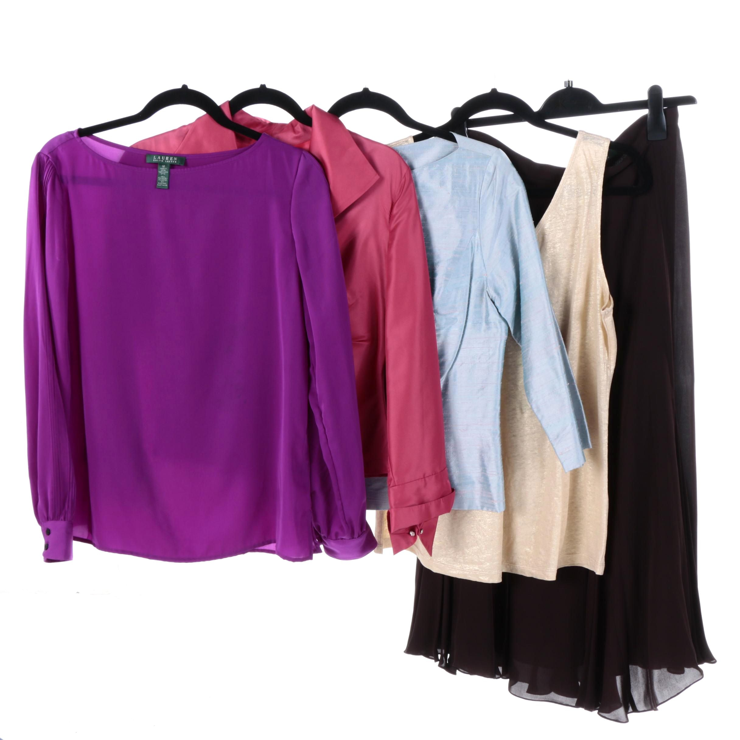 Women's Tops and Skirt Including Lauren Ralph Lauren
