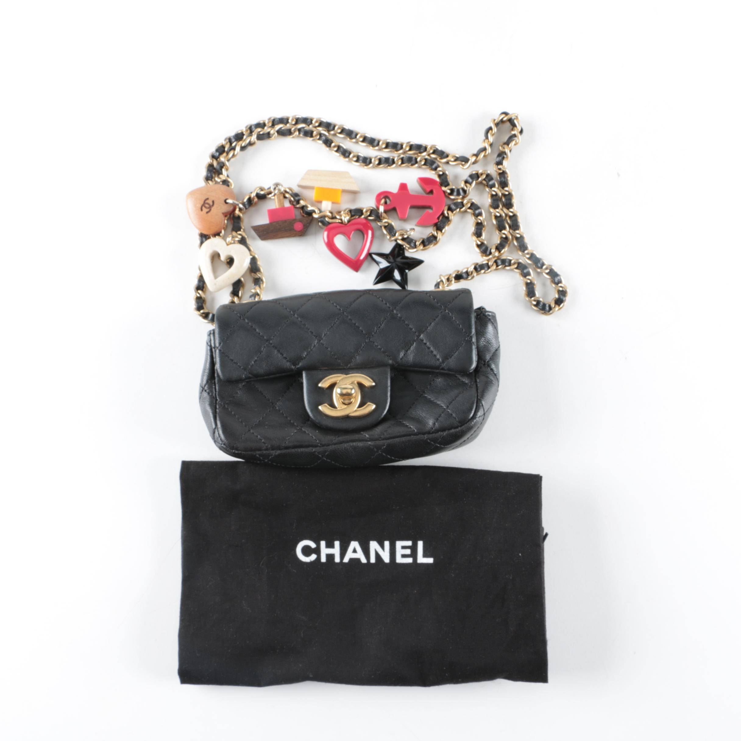 Chanel Marine Charms Classic Lambskin Flap Bag