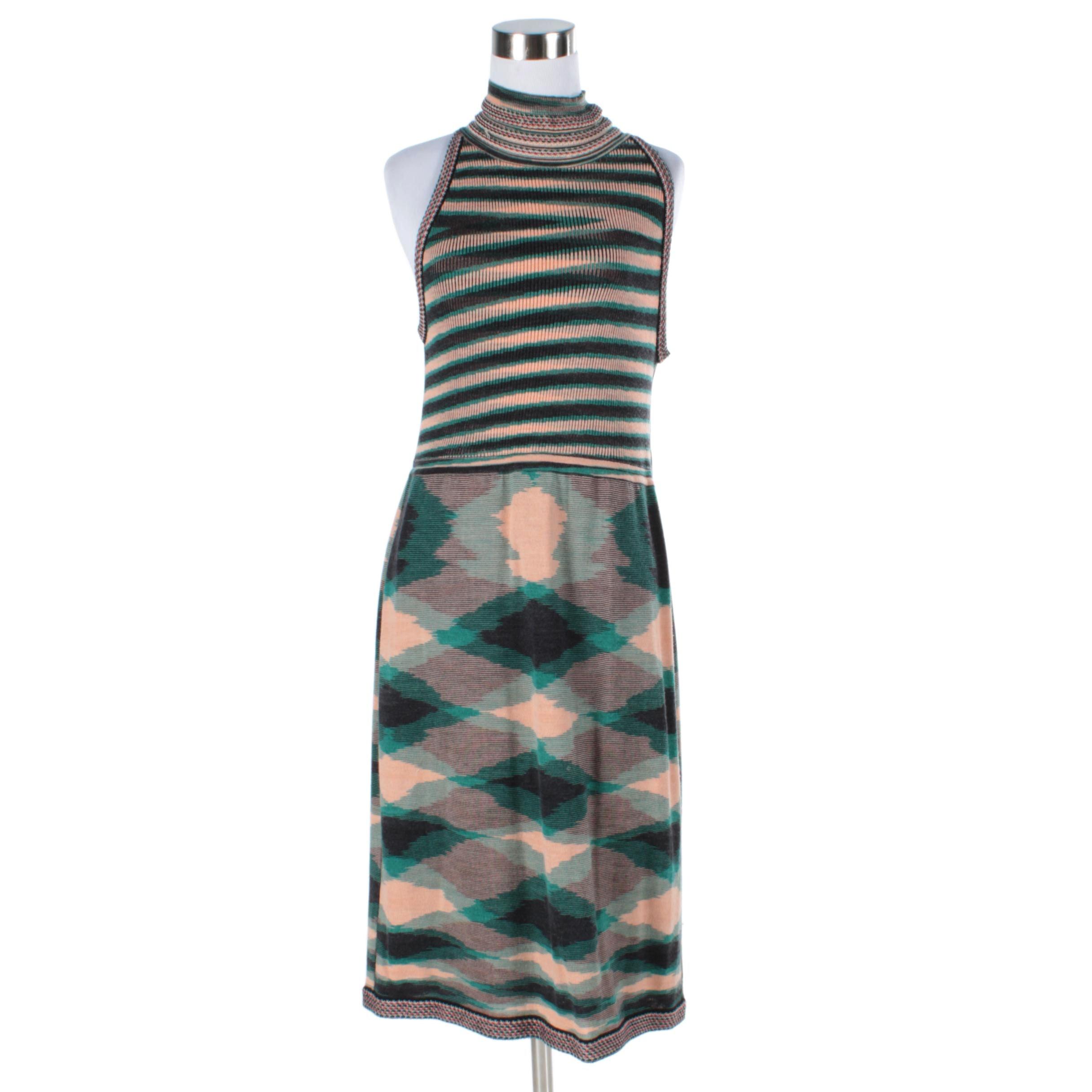 Missoni Knit Sleeveless Dress