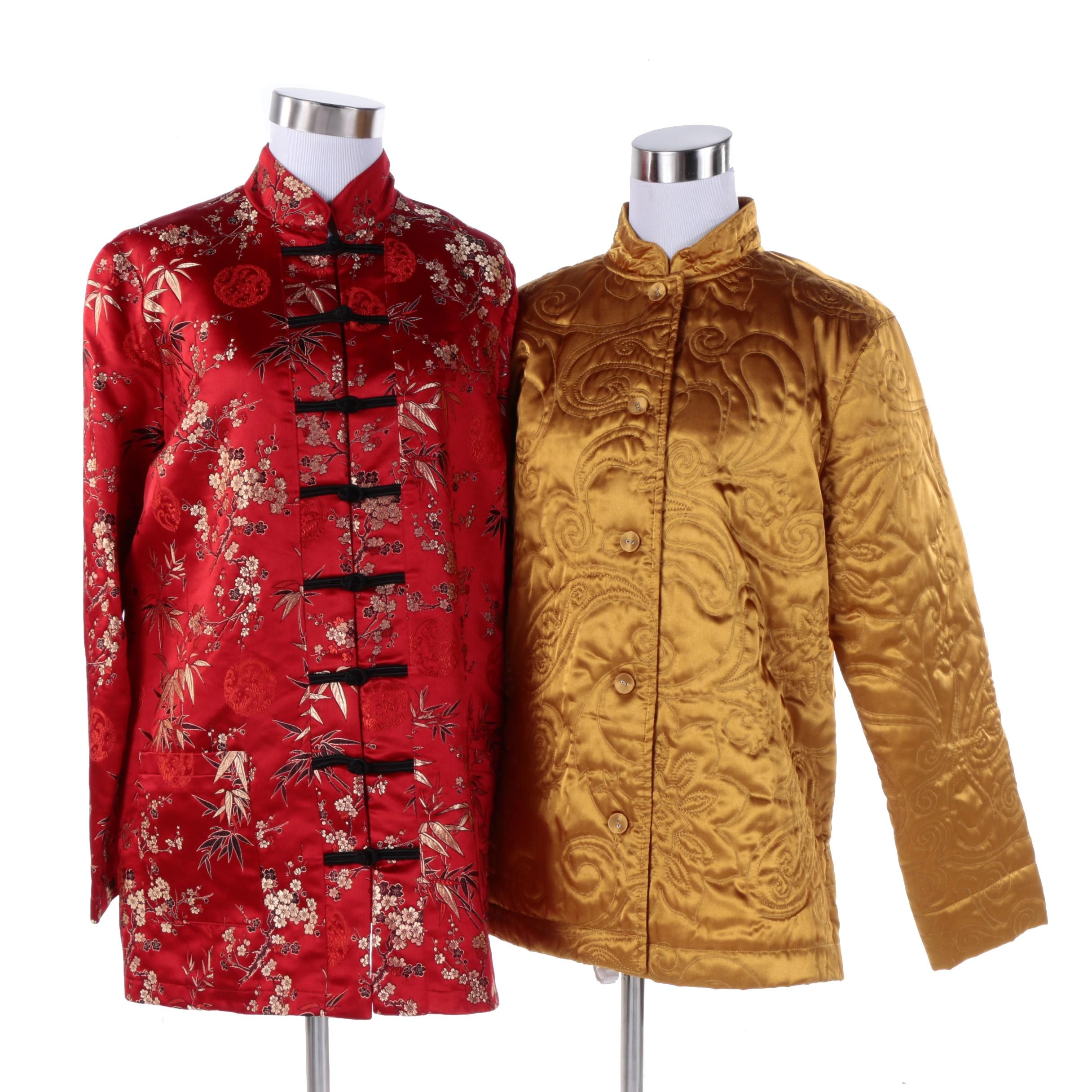 Chinoiserie Jackets Including Maternity