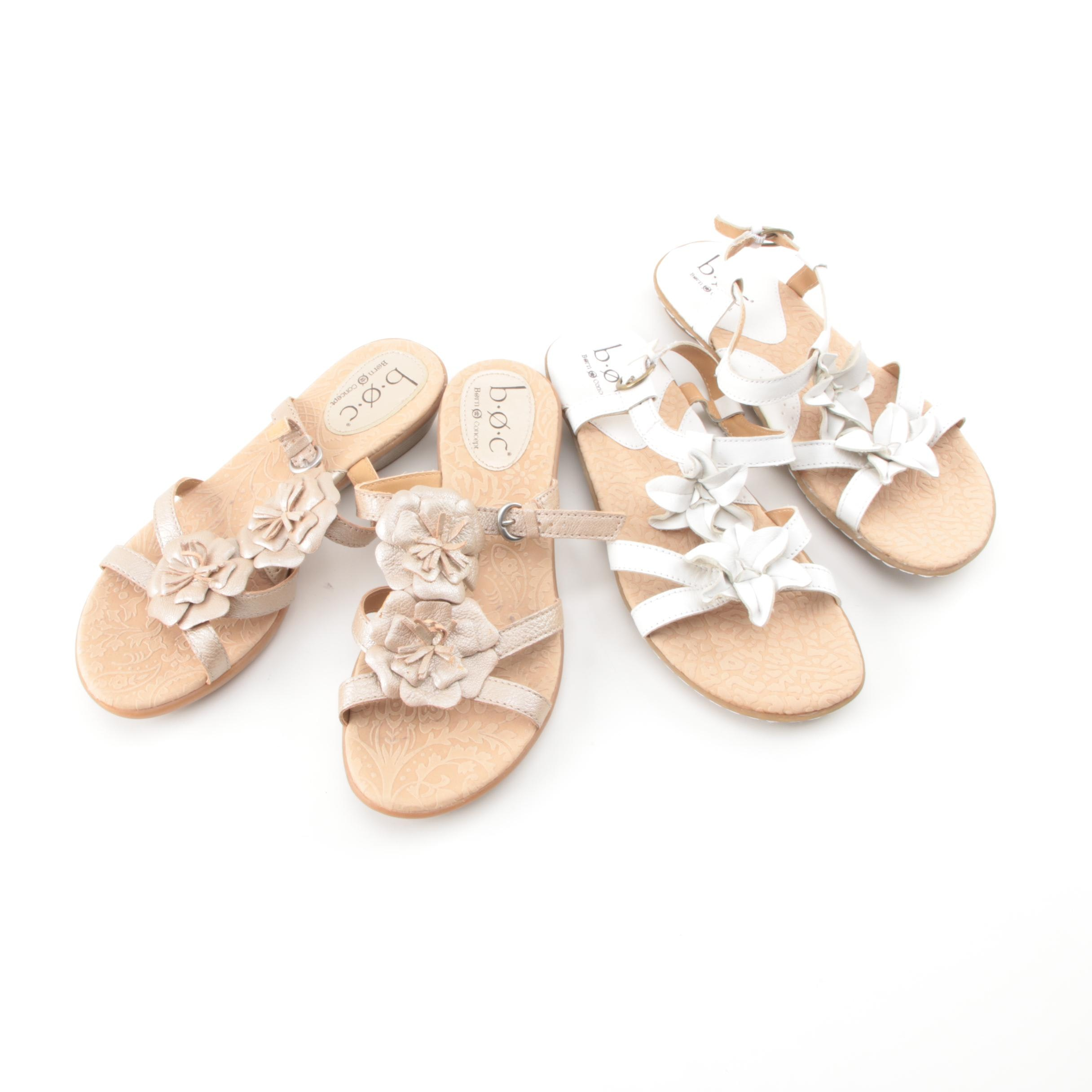 Women's B.O.C. Born Concept Leather Sandals
