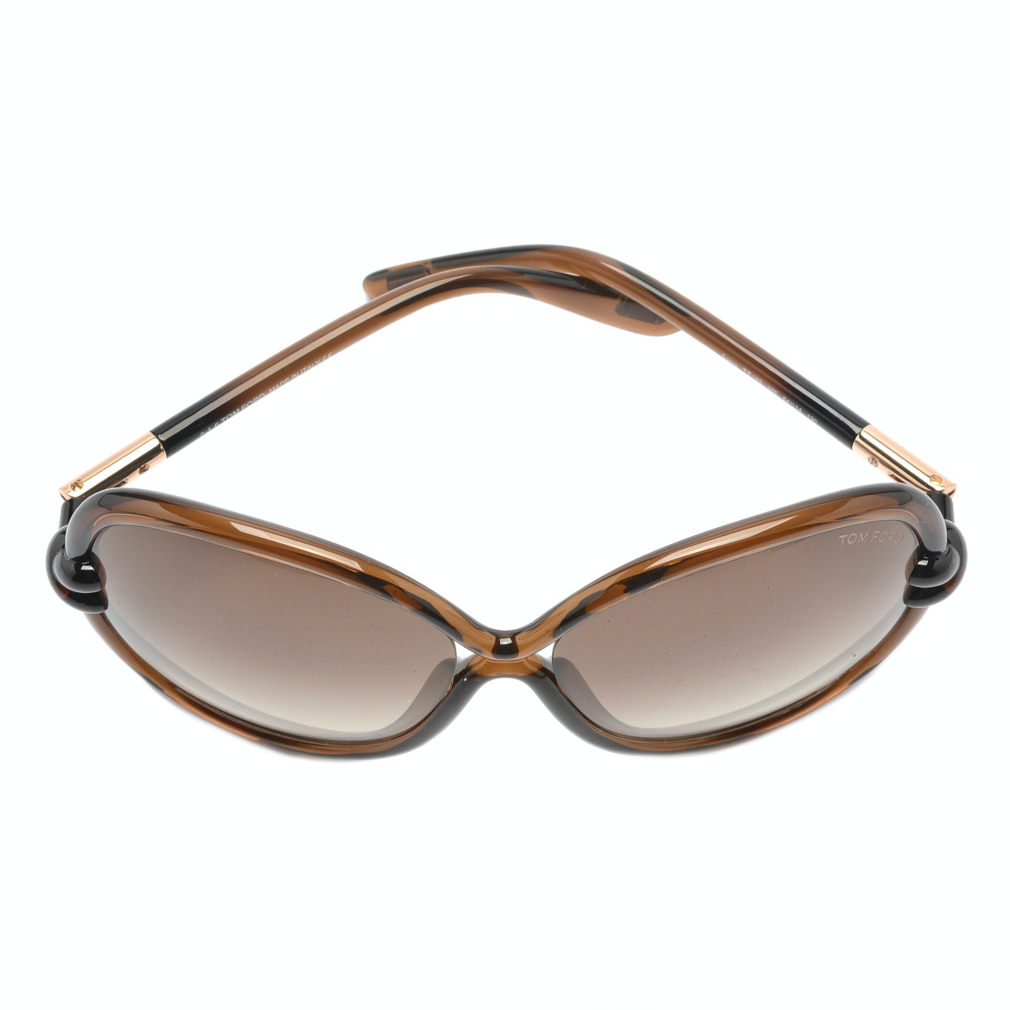 Tom Ford Sonja Oversized Round Sunglasses