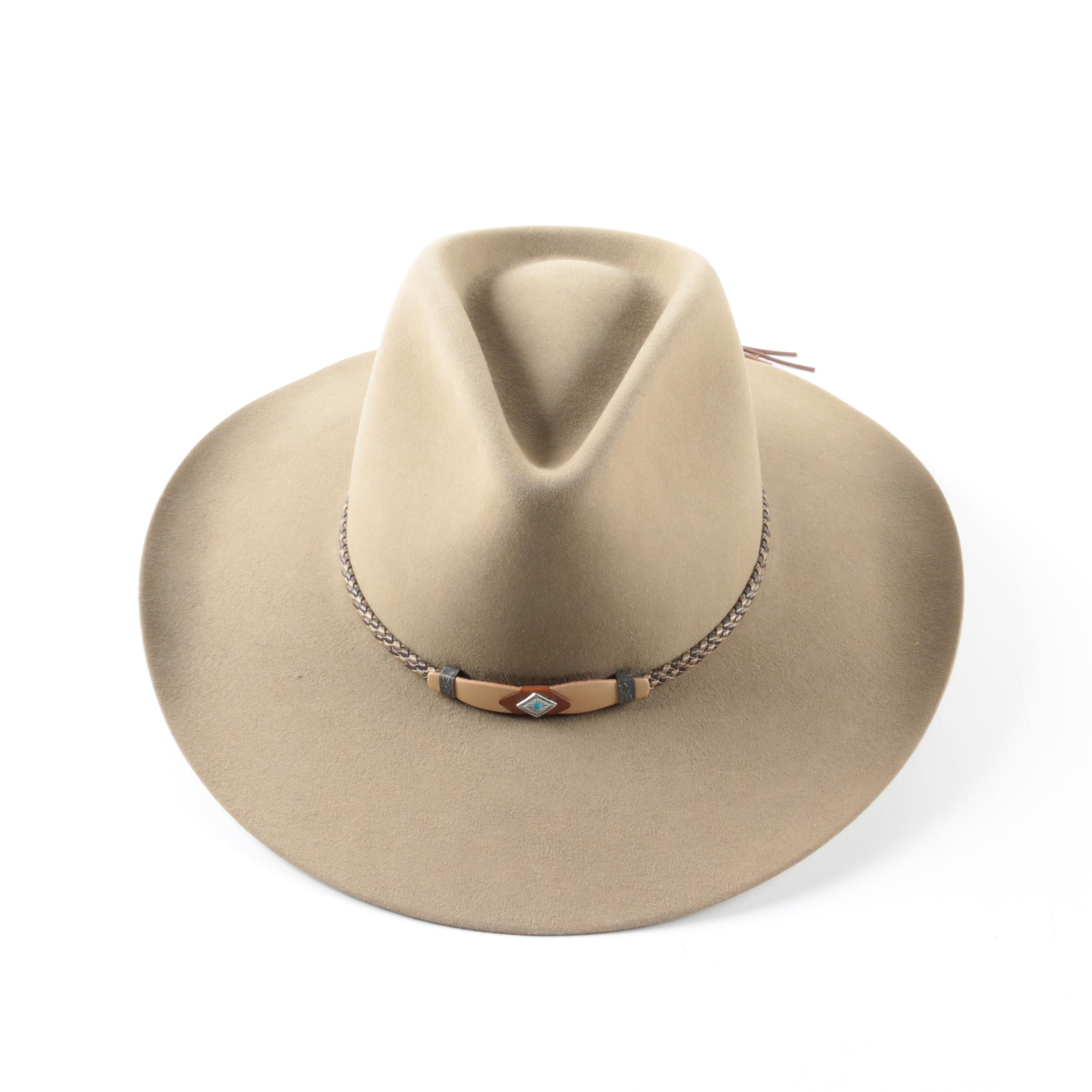Stetson 4X Felted Beaver Cowboy Hat with Box