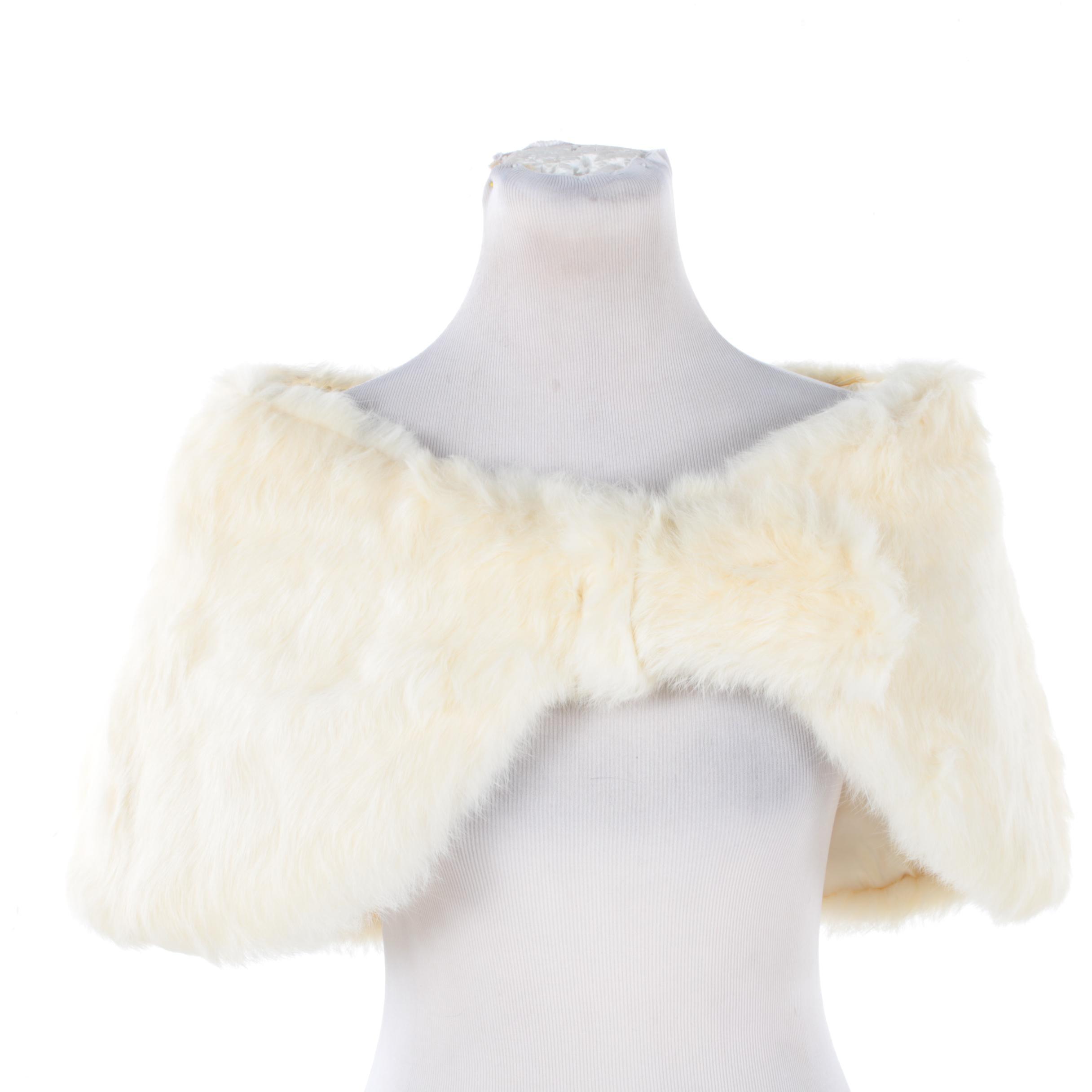 Vintage City Fur Co. Rabbit Fur Stole