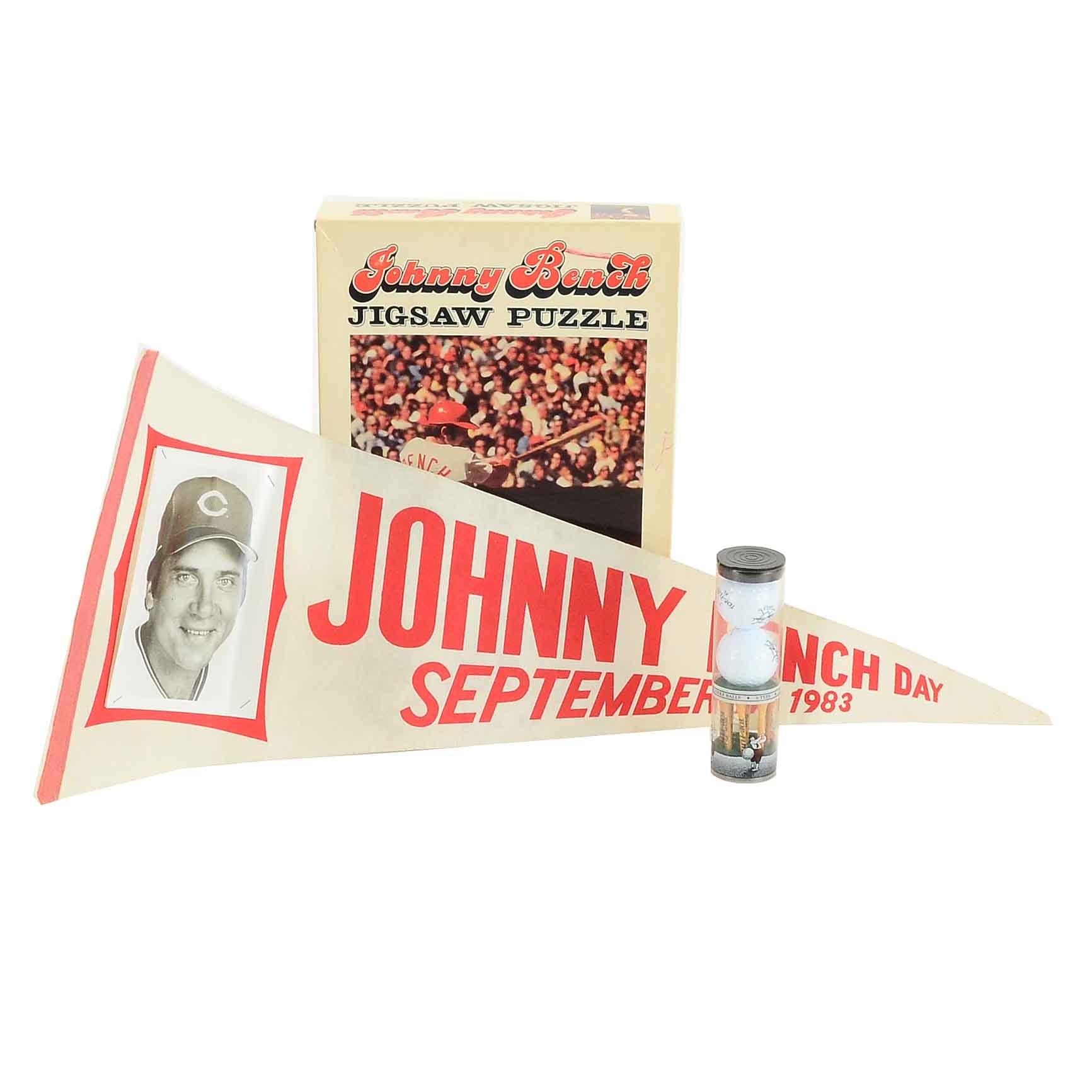 Johnny Bench Souvenir Baseball Collectibles