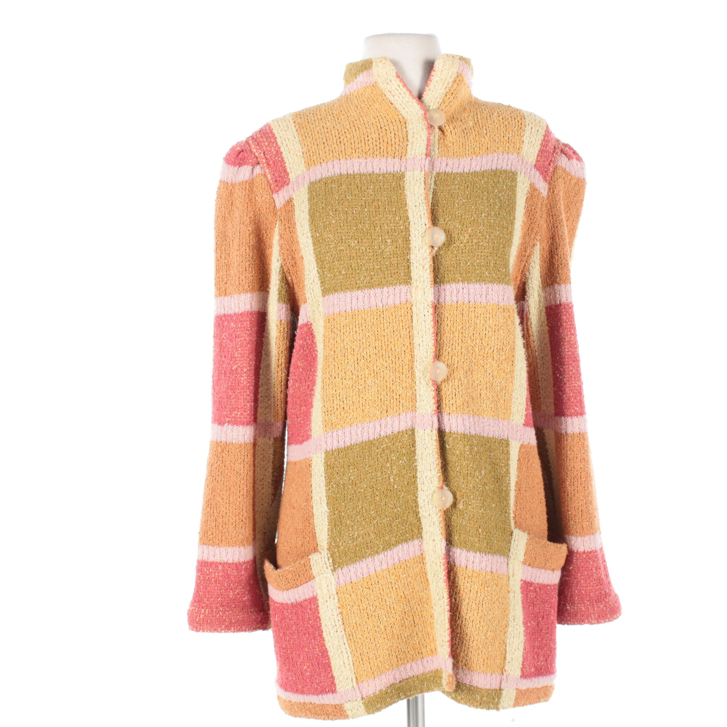 Women's Vintage Missoni for Bullock's Knit Jacket