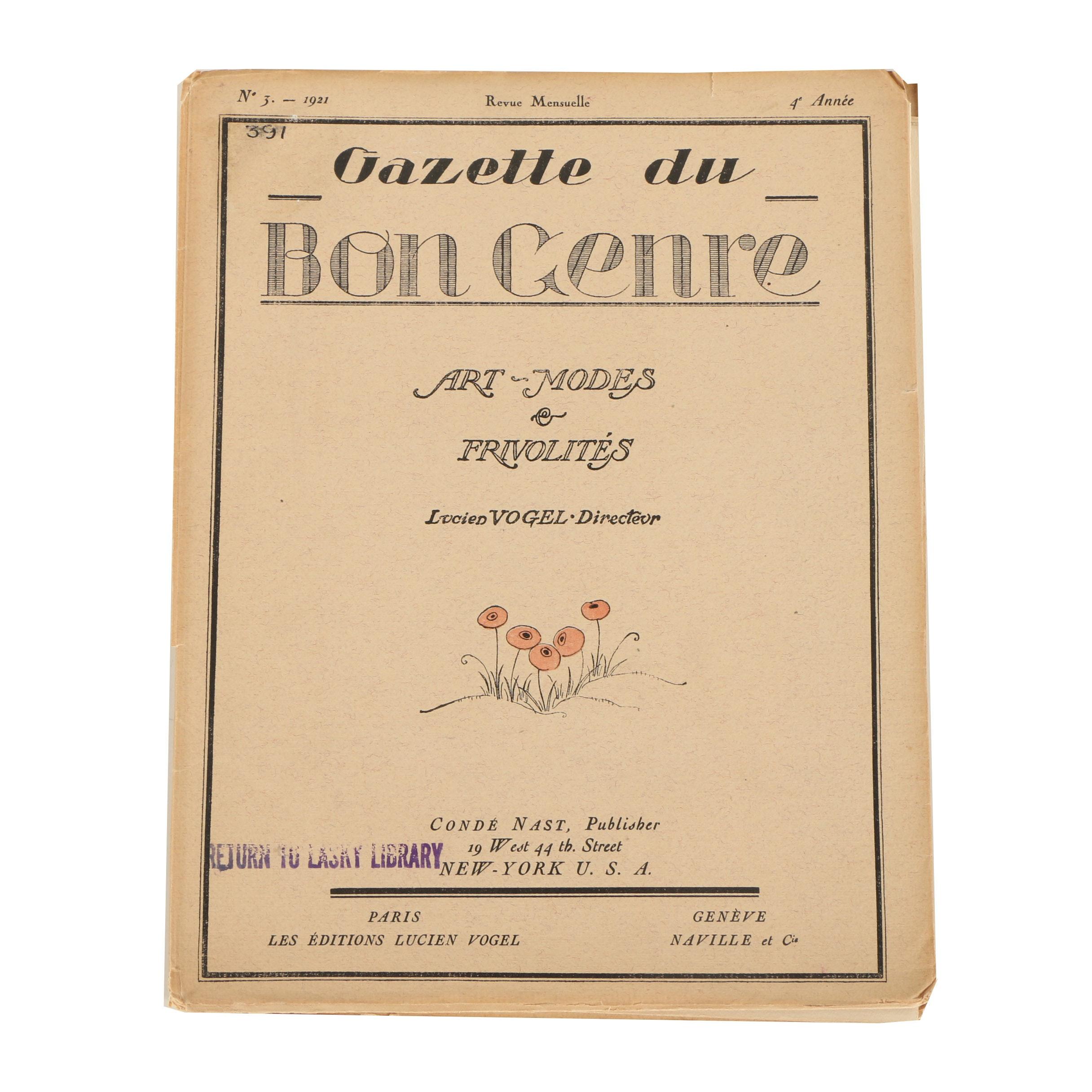 Gazette du Bon Genre Fashion Magazine