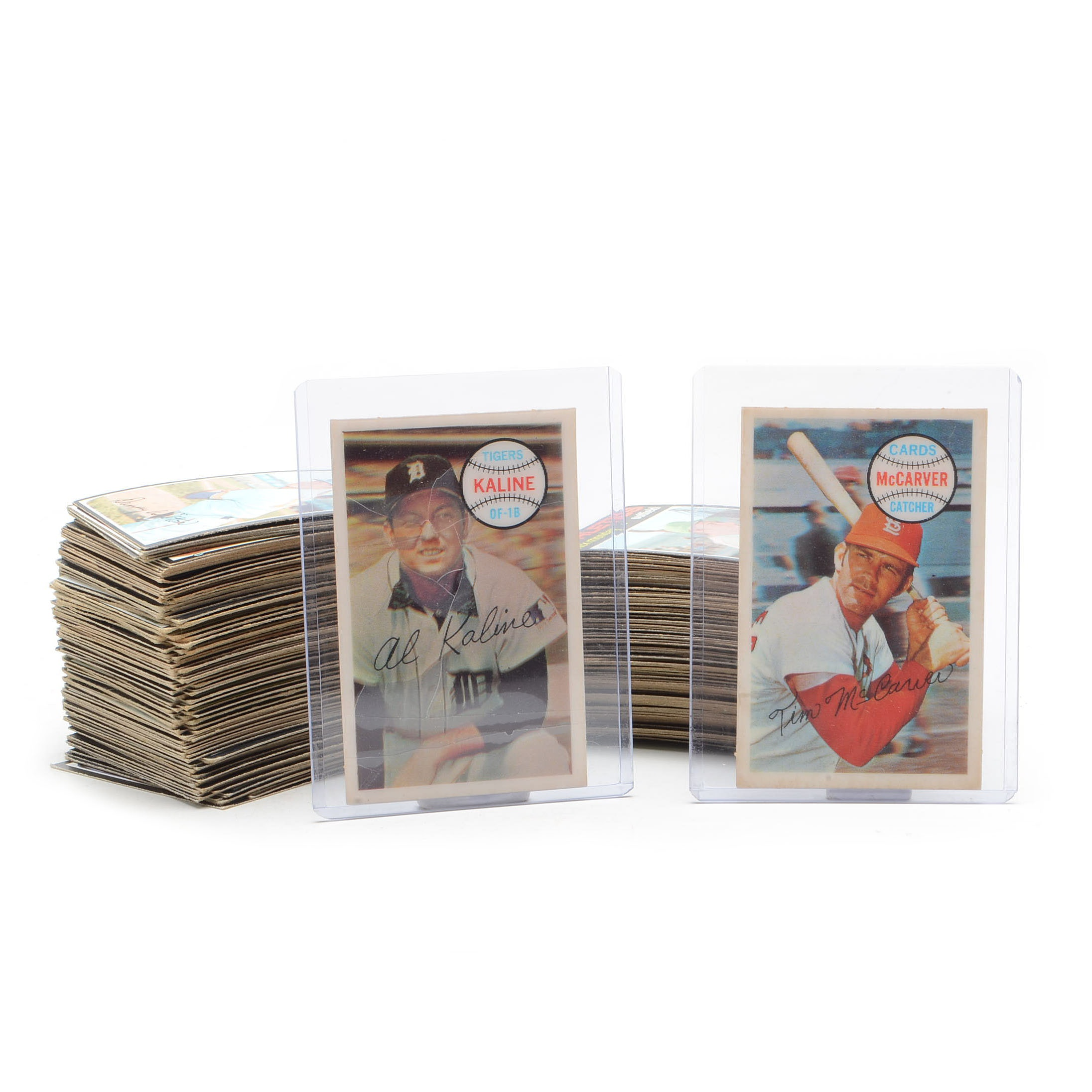1970 and 1971 Baseball Card Collection