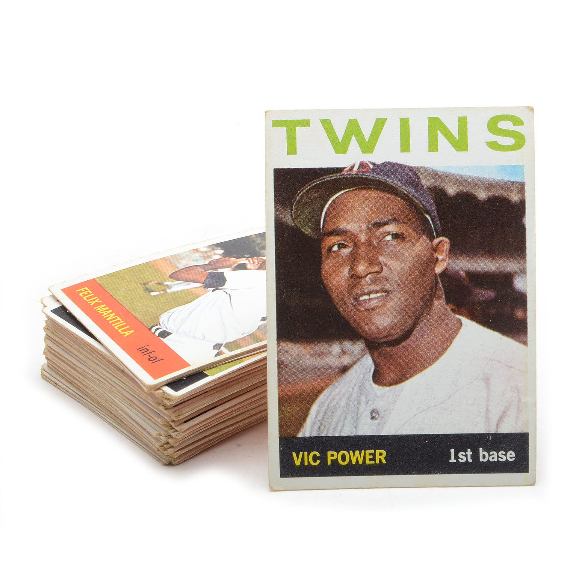 Fifty-Two 1964 Topps Baseball Cards