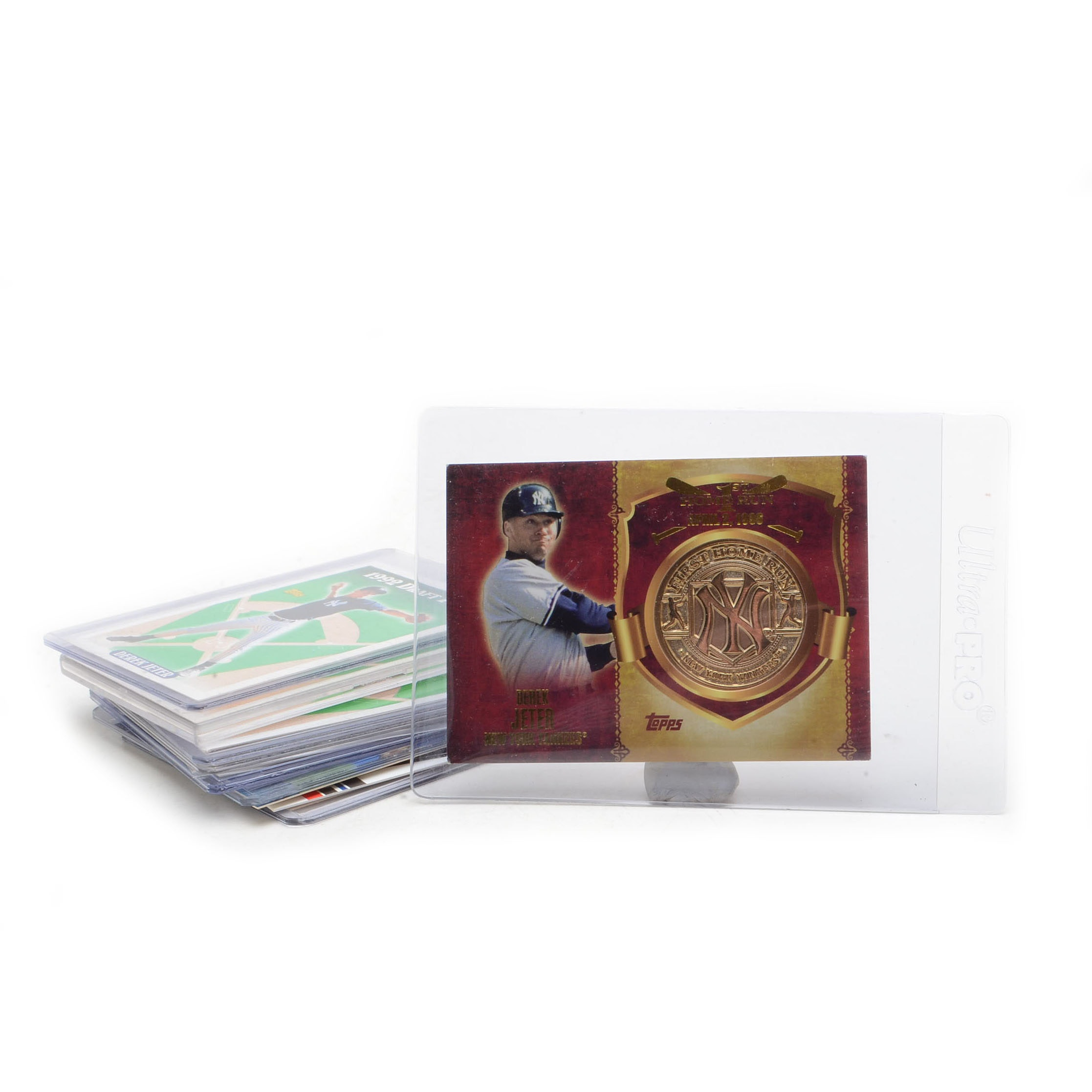 Derek Jeter New York Yankees Baseball Cards With Rookies