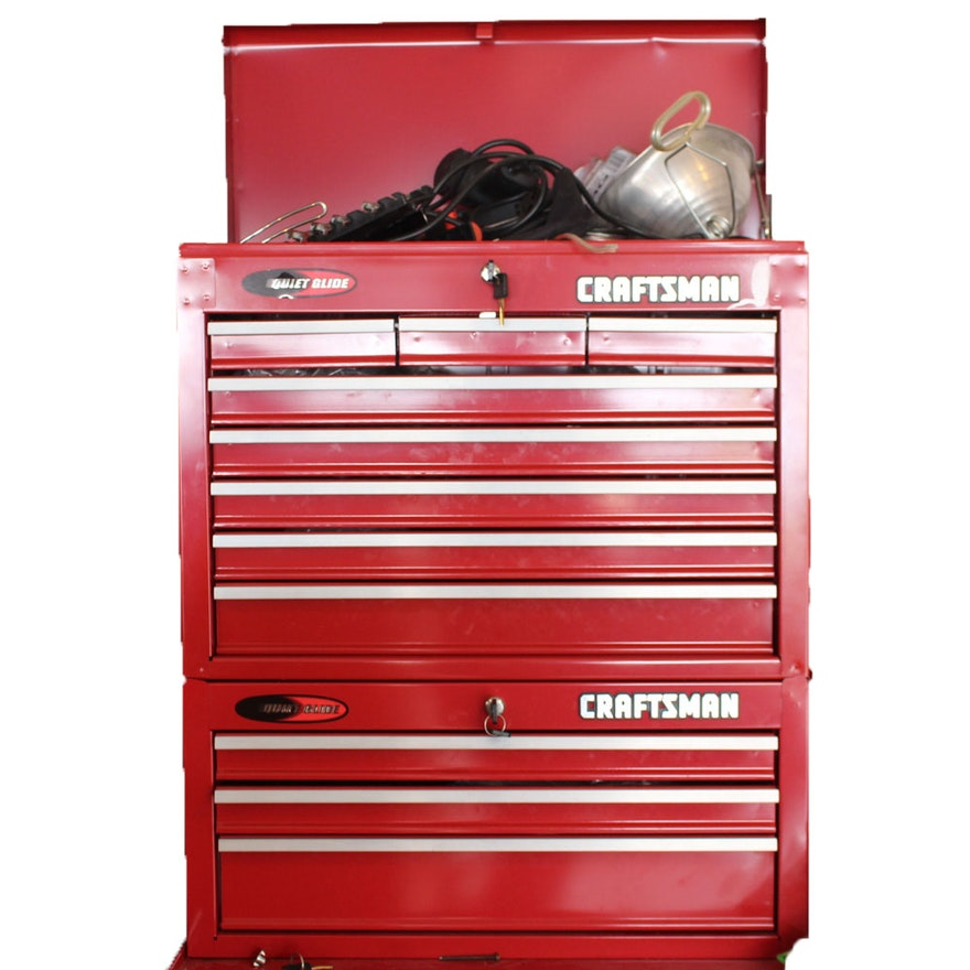 Craftsman Tool Chests With Tools : EBTH