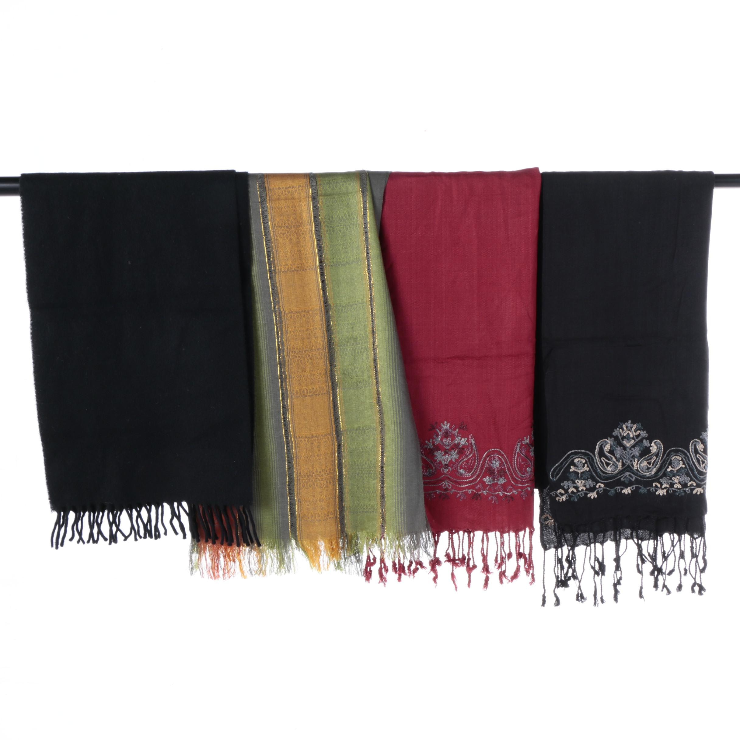 Women's Shawls Including Lambswool and Pashmina Style