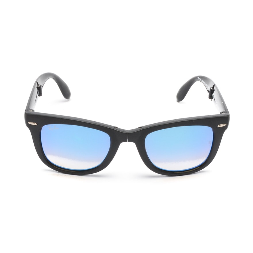 9b50f87879 Ray-Ban Folding Wayfarer Sunglasses   EBTH