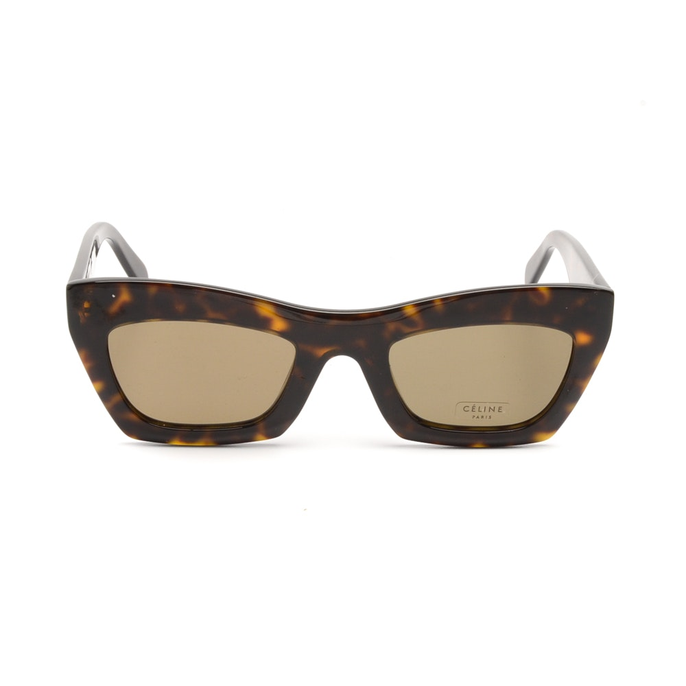Céline Modified Cat Eye Sunglasses