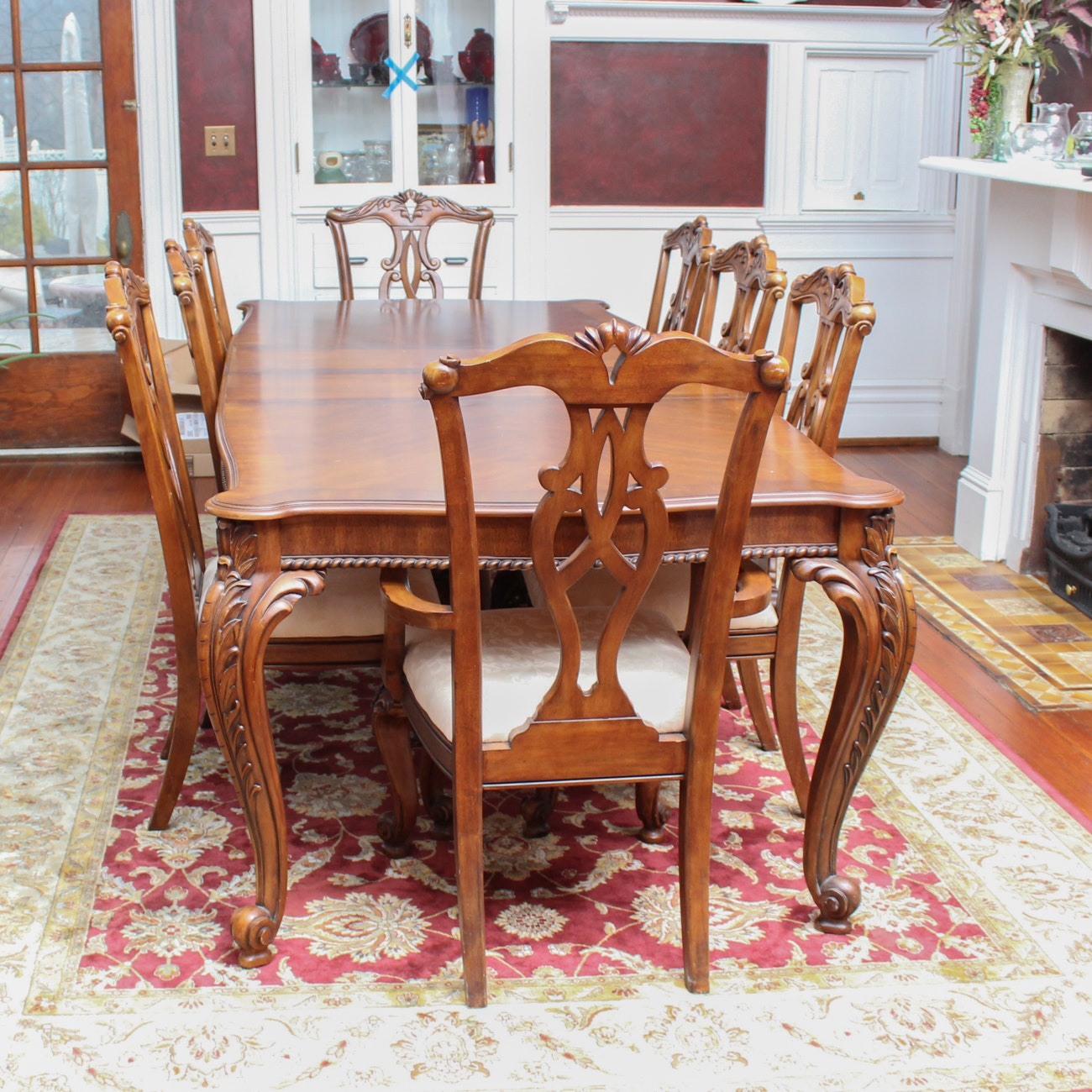 Chippendale Style Dining Set By Pulaski Furniture ...