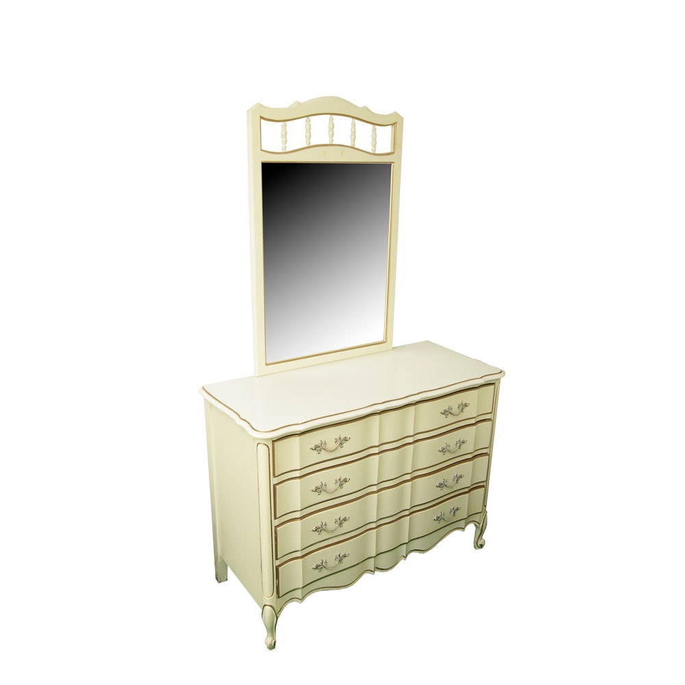 Vintage French Provincial Style Dresser by Dixie