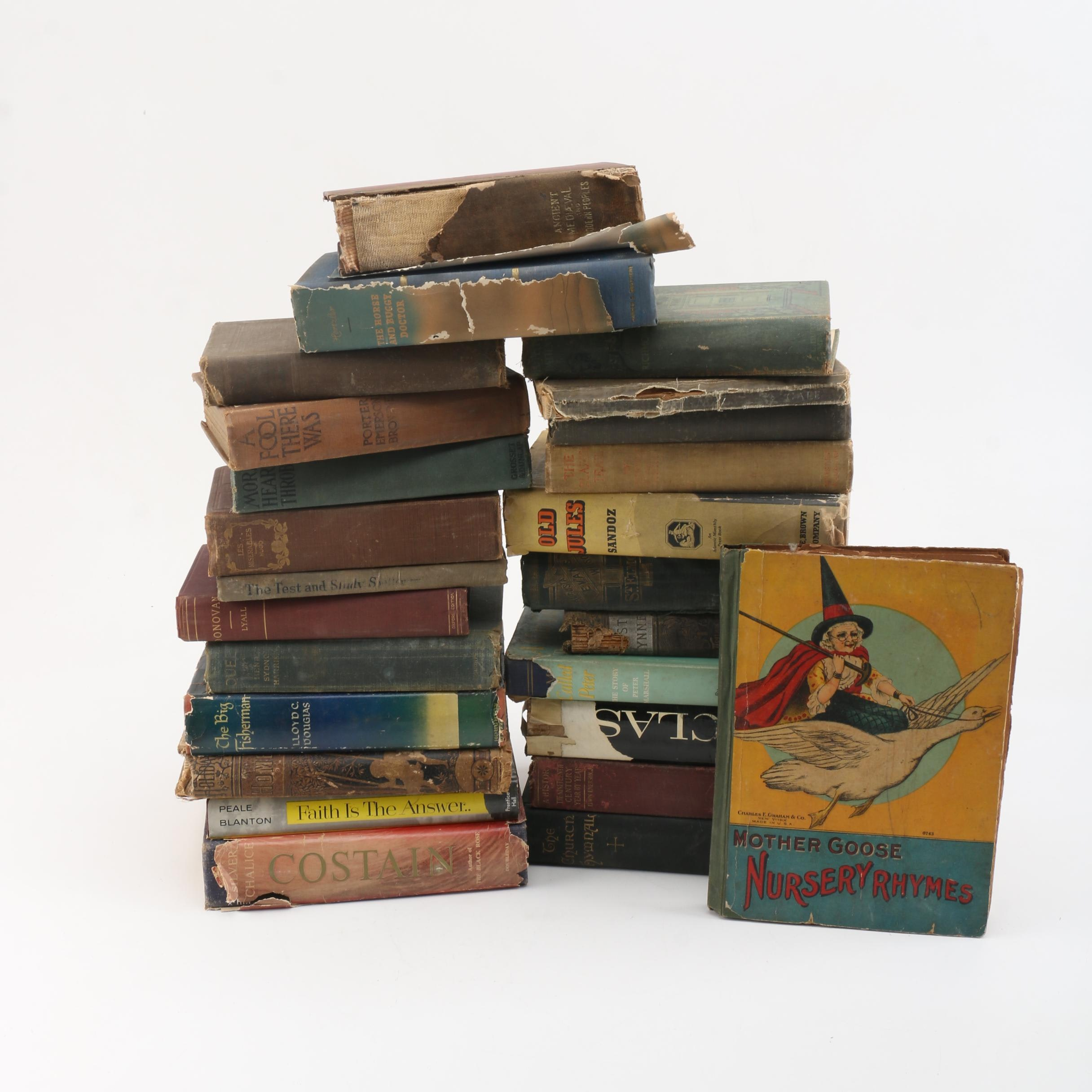 Assorted Vintage Hardbound Books
