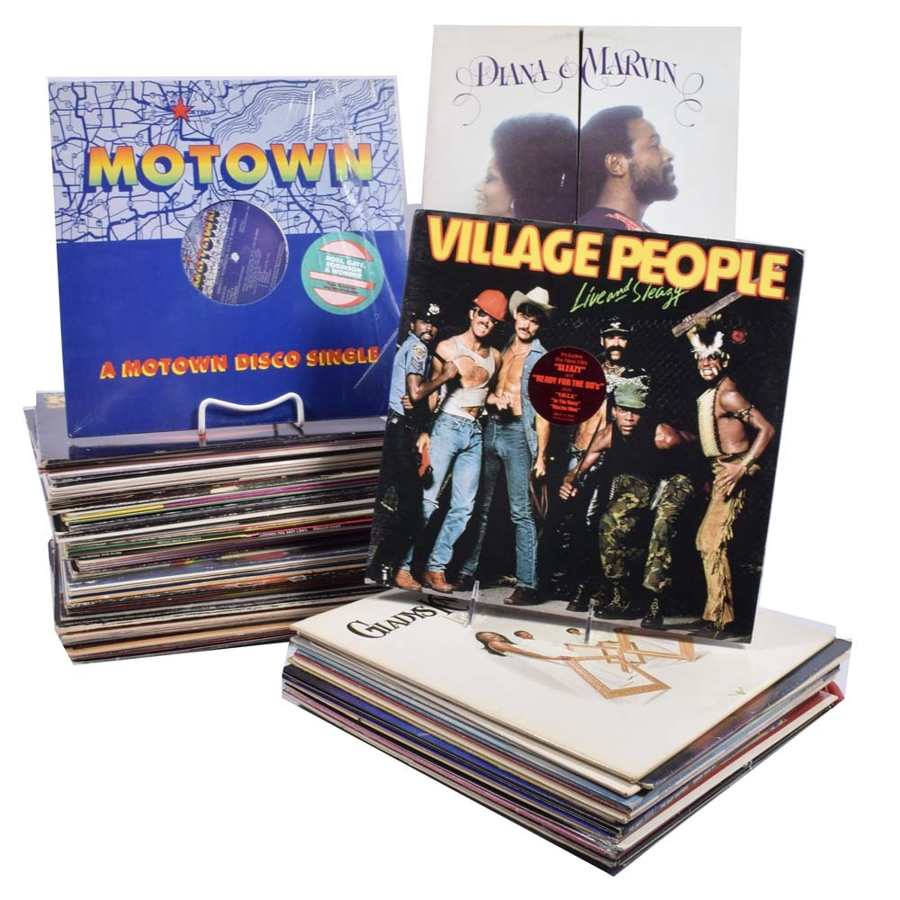 Funk, Soul, R&B, Dicso and Long Play Single Record Collection