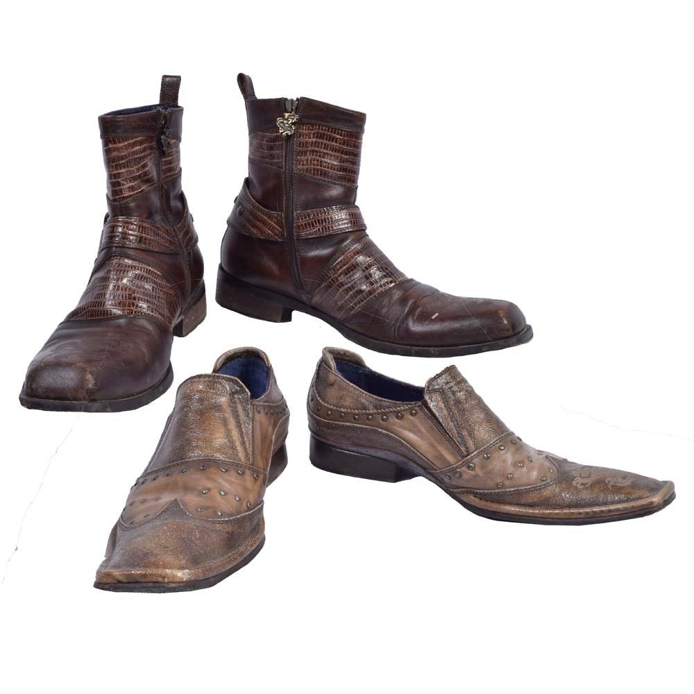 Men's Mark Nasan Leather Shoes