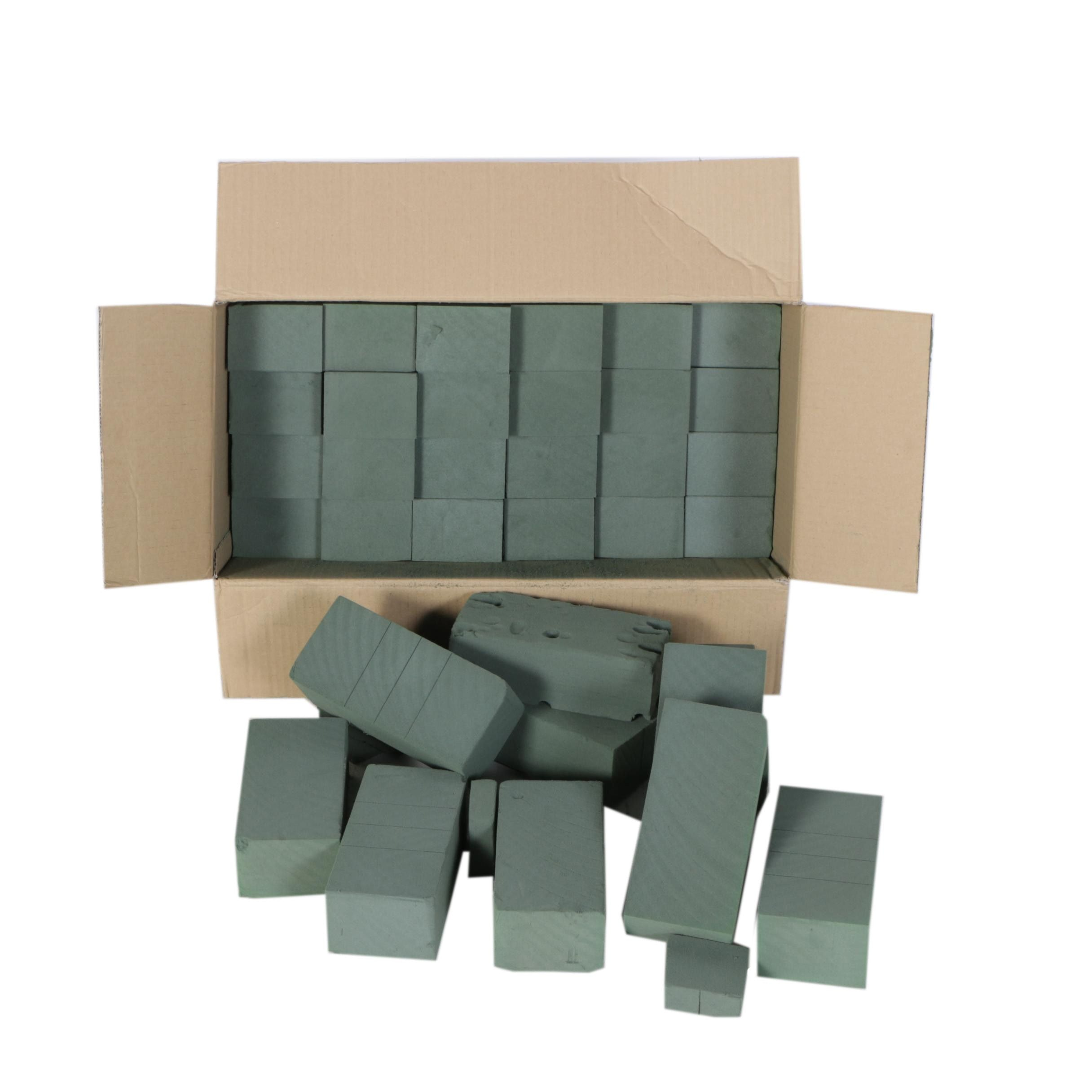 Box of Cool Brick Floral Foam