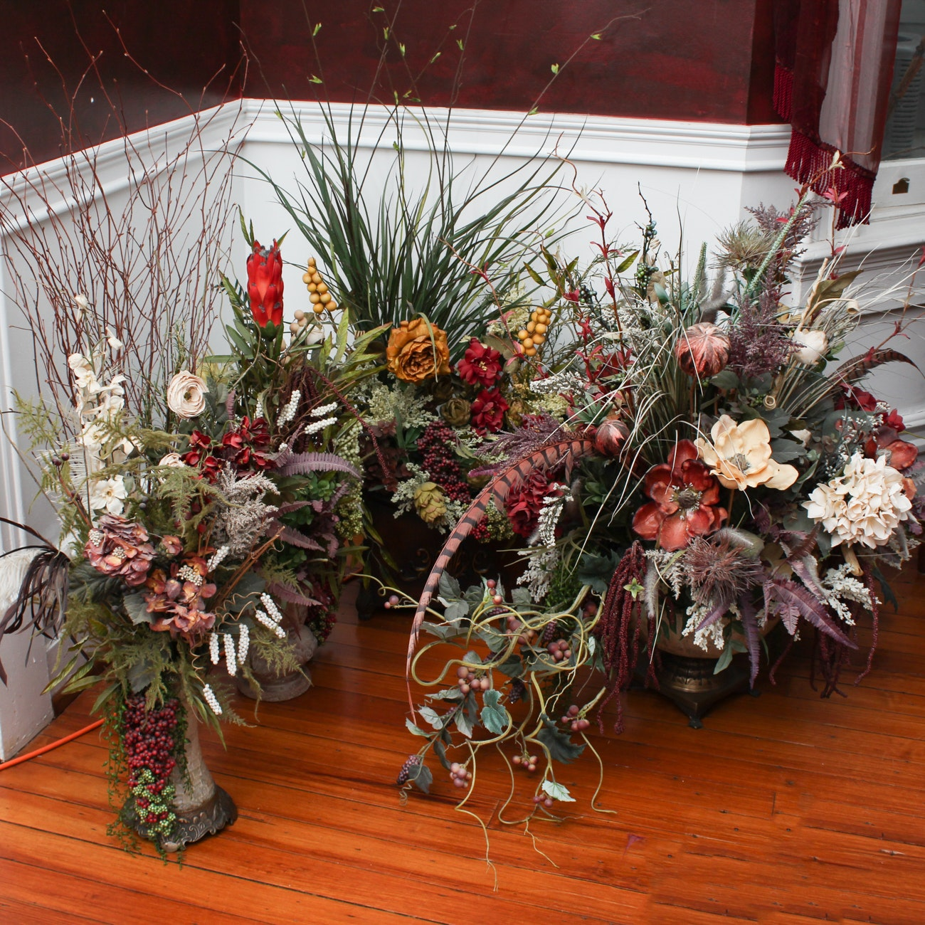 Faux Floral Arrangements