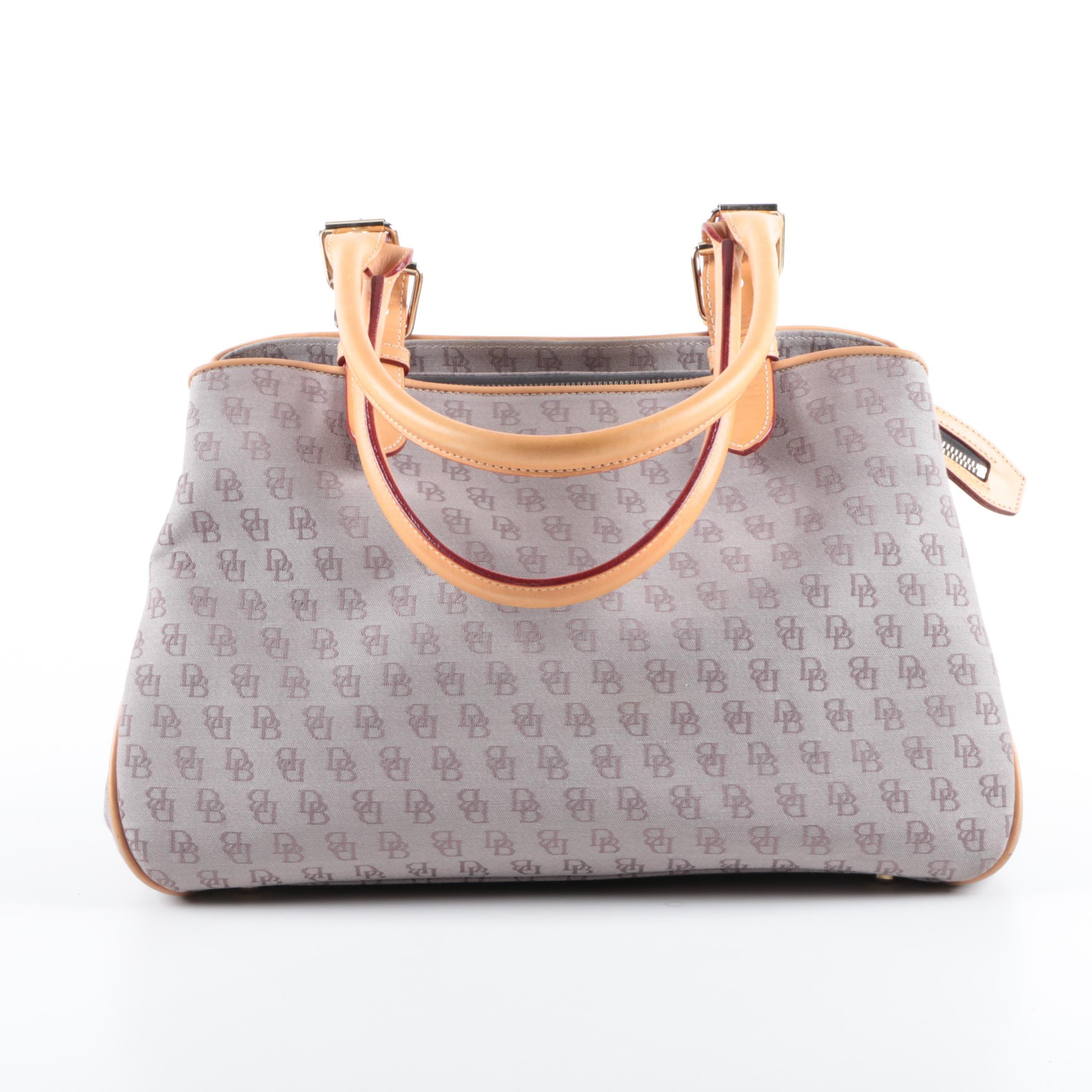 Dooney & Bourke Signature Canvas Top Handle Carryall Bag