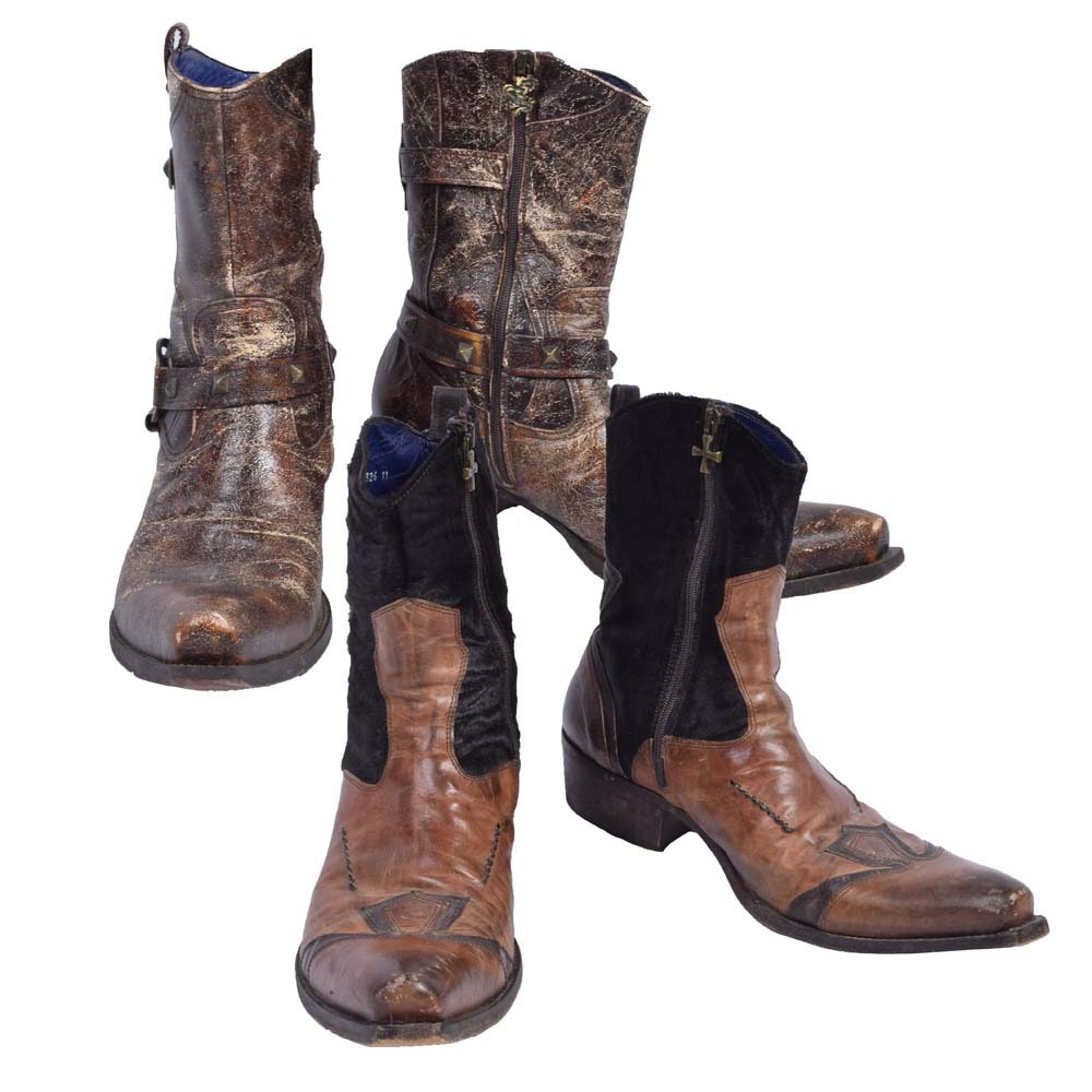 Men's Mark Nason Leather Boots