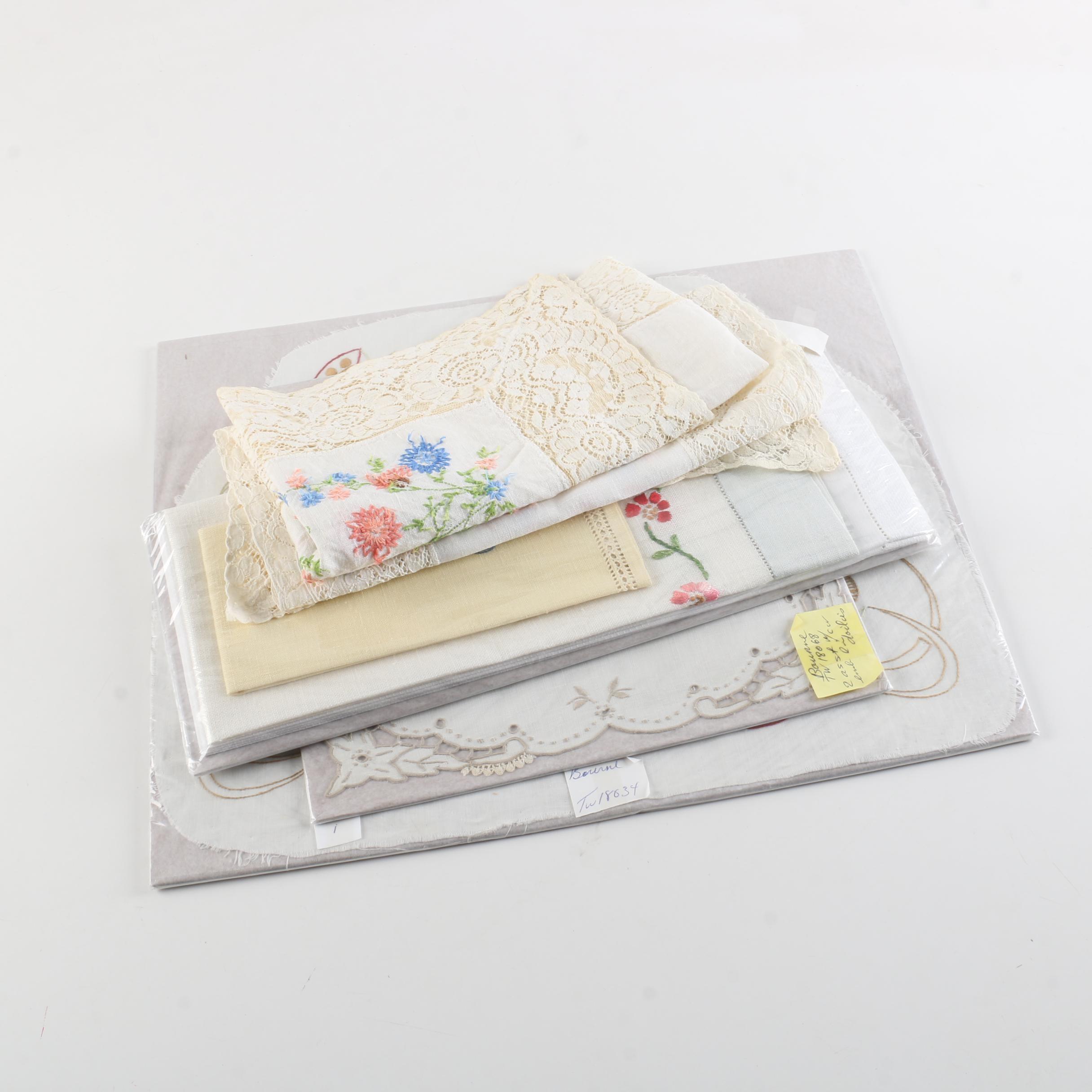 Doilies, Hand Towels, and Handkerchiefs