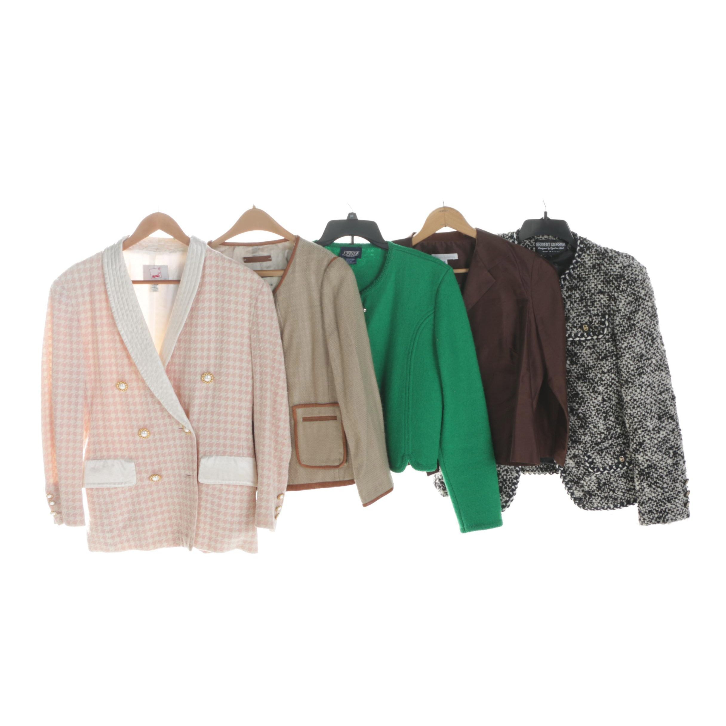 Women's Blazers Including Malene Birger, Connie Roberson, Herbert Grossman