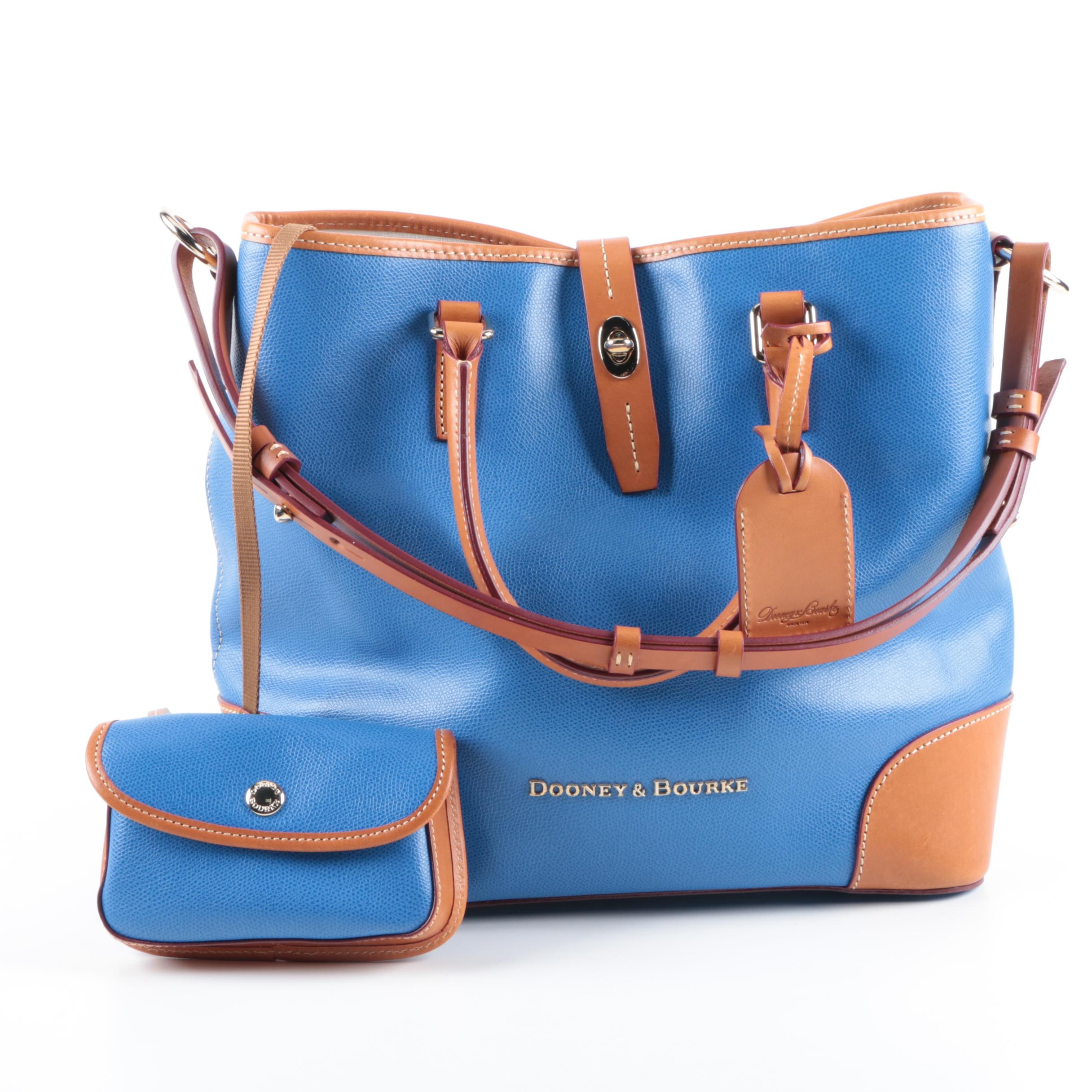 Dooney & Bourke Leather Carryall Tote