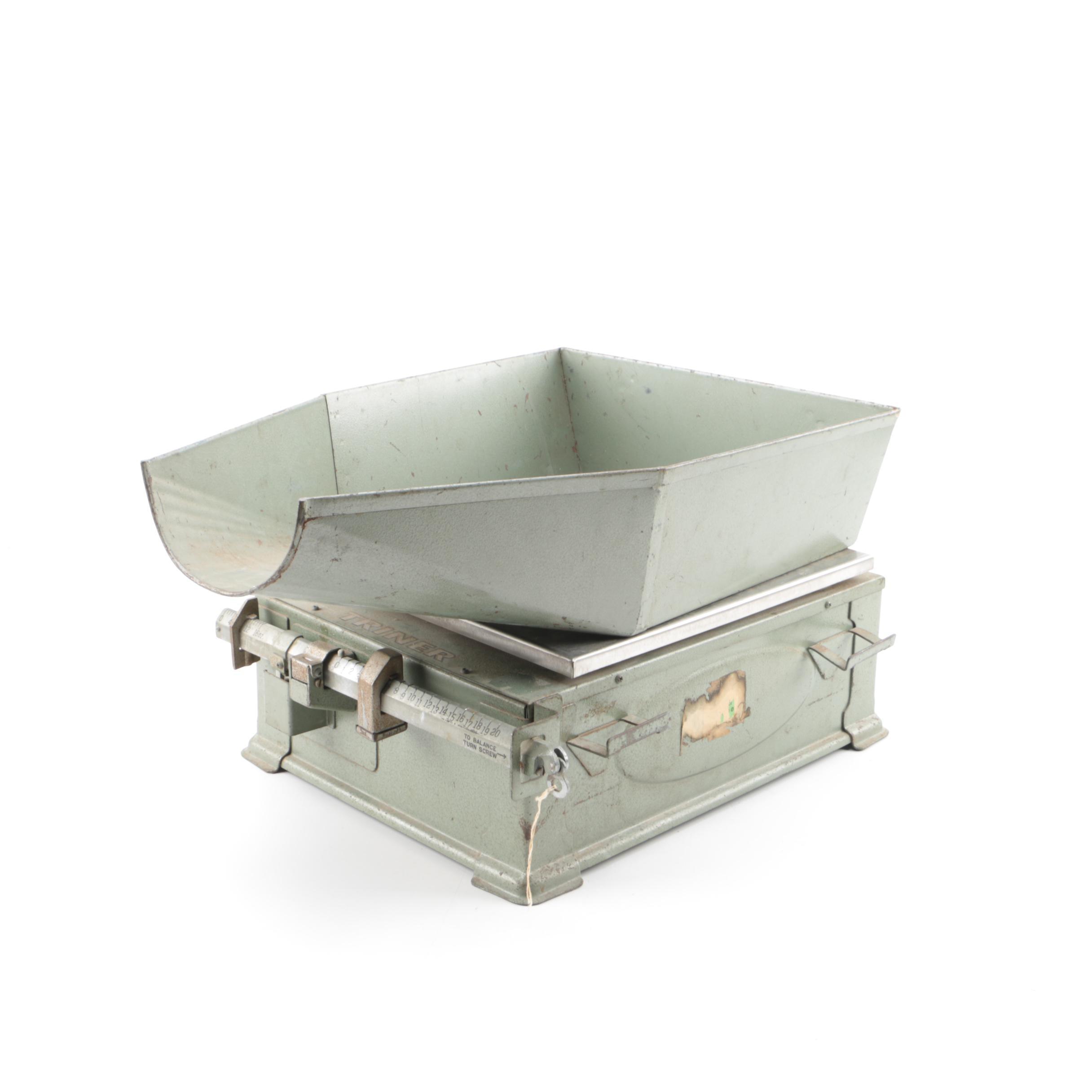 Vintage Triner Dry Goods Scale
