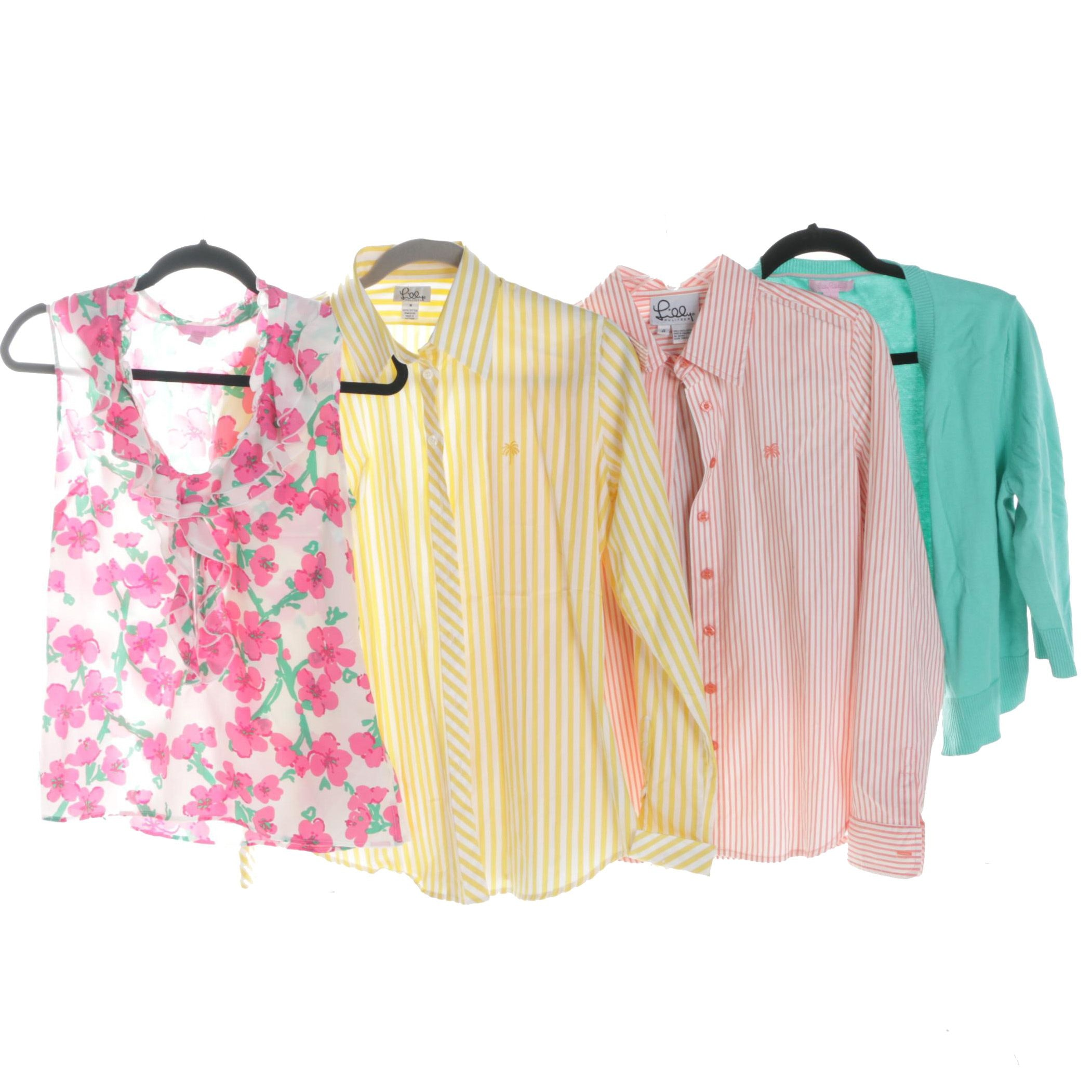 Assortment of Lily Pulitzer Tops