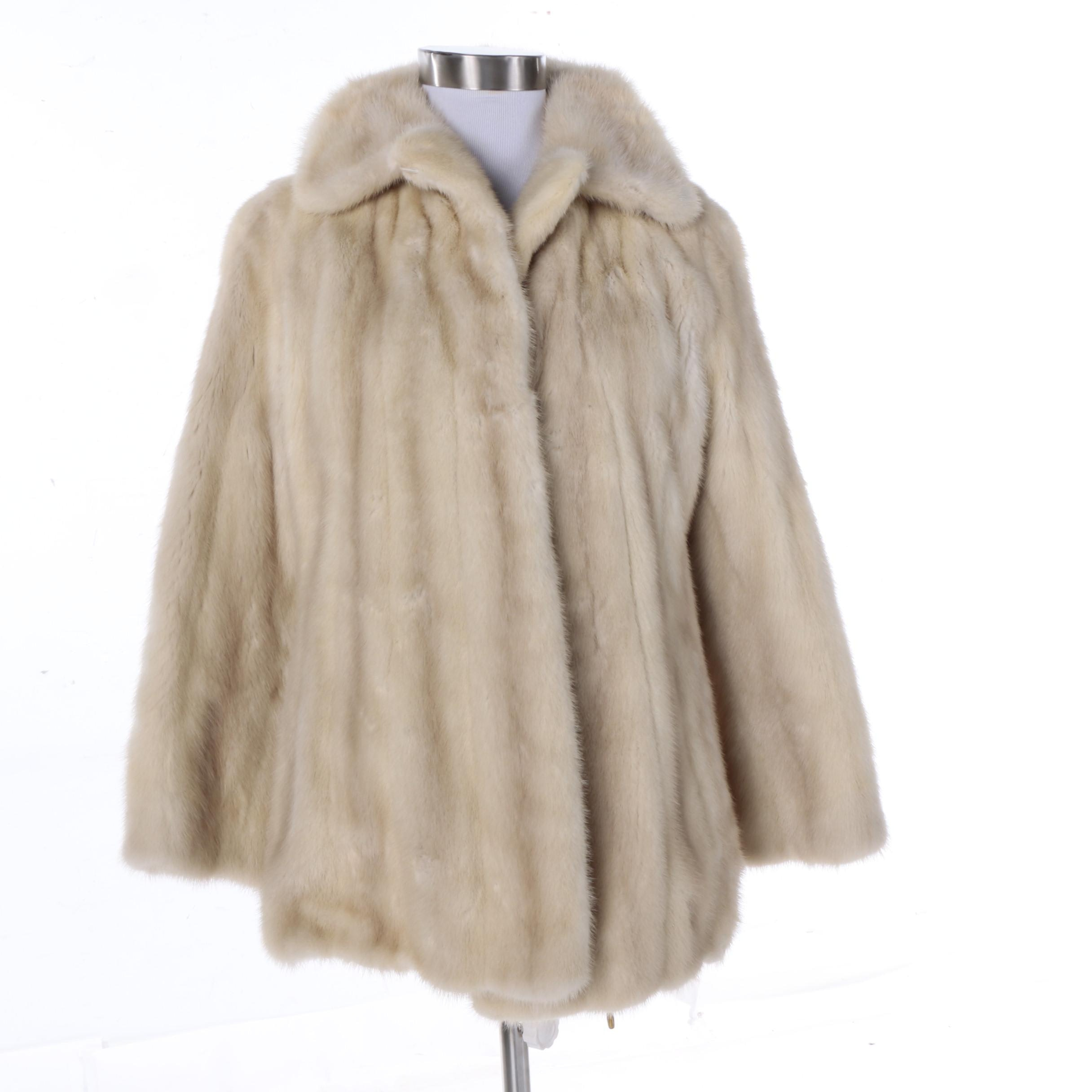 Women's The Denver Mink Fur Coat