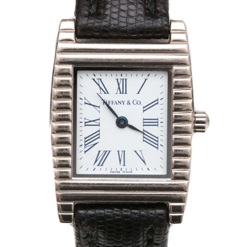 Tiffany & Co. 18K White Gold Wristwatch