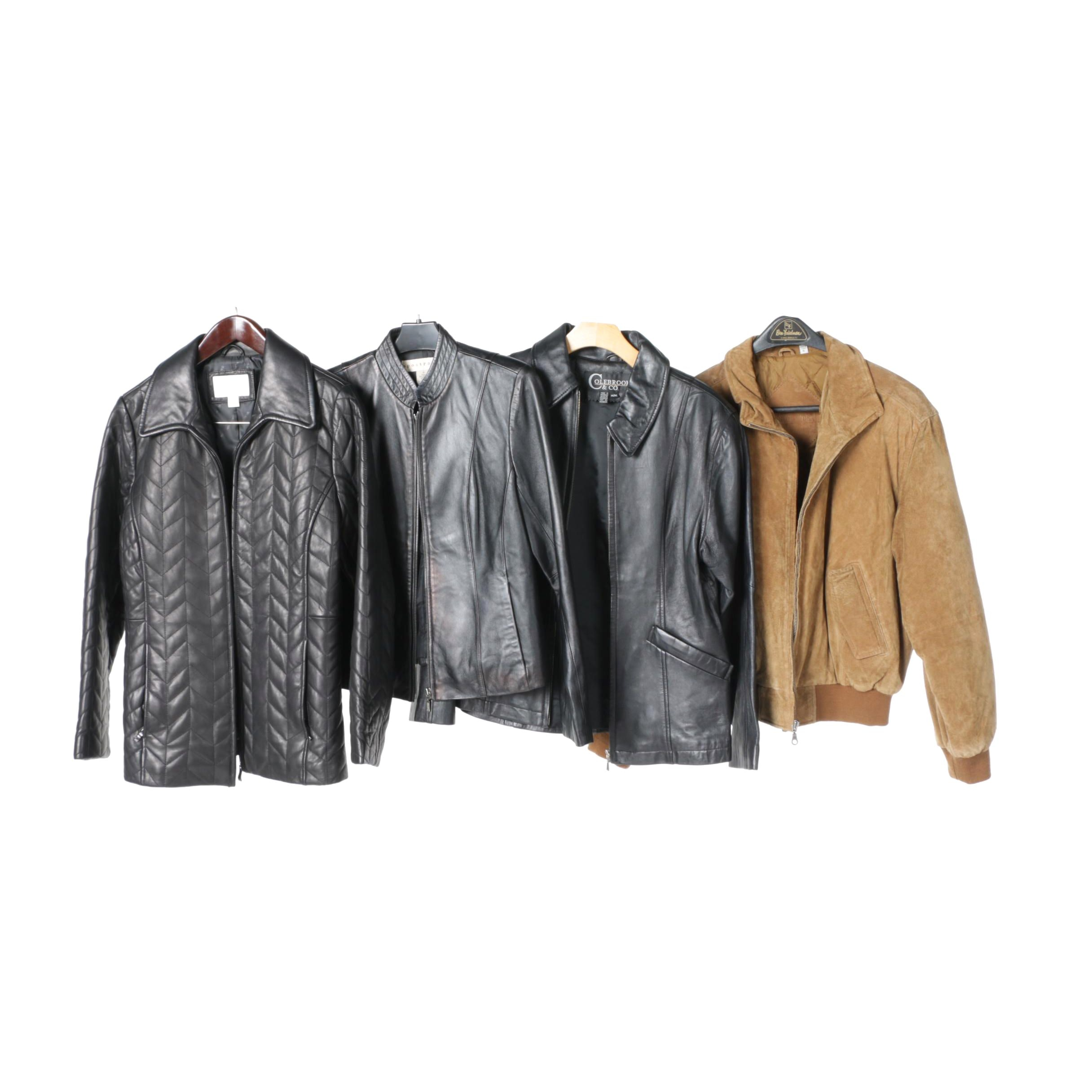Women's Leather and Suede Jackets