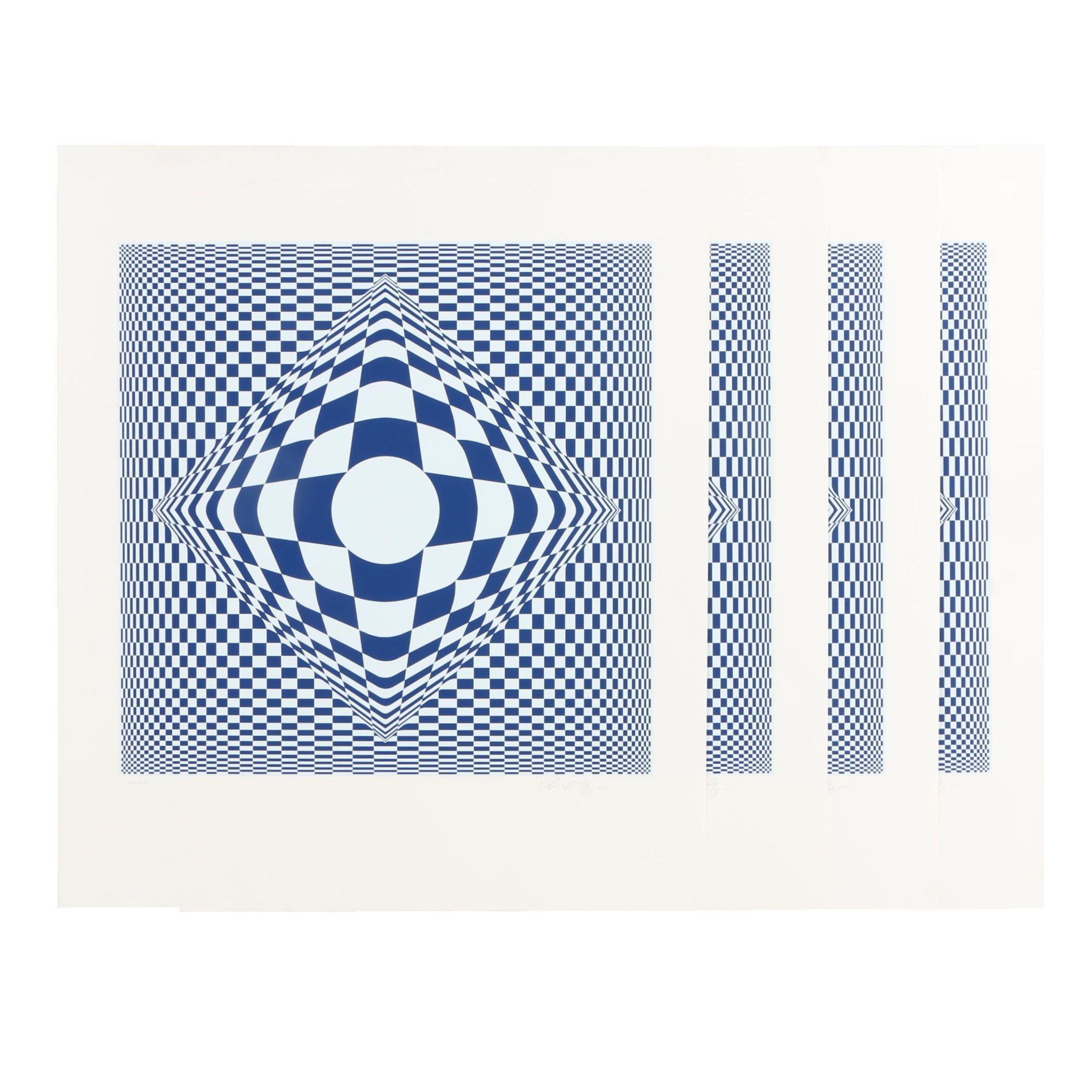 Victor Vasarely Op-Art Serigraph Prints