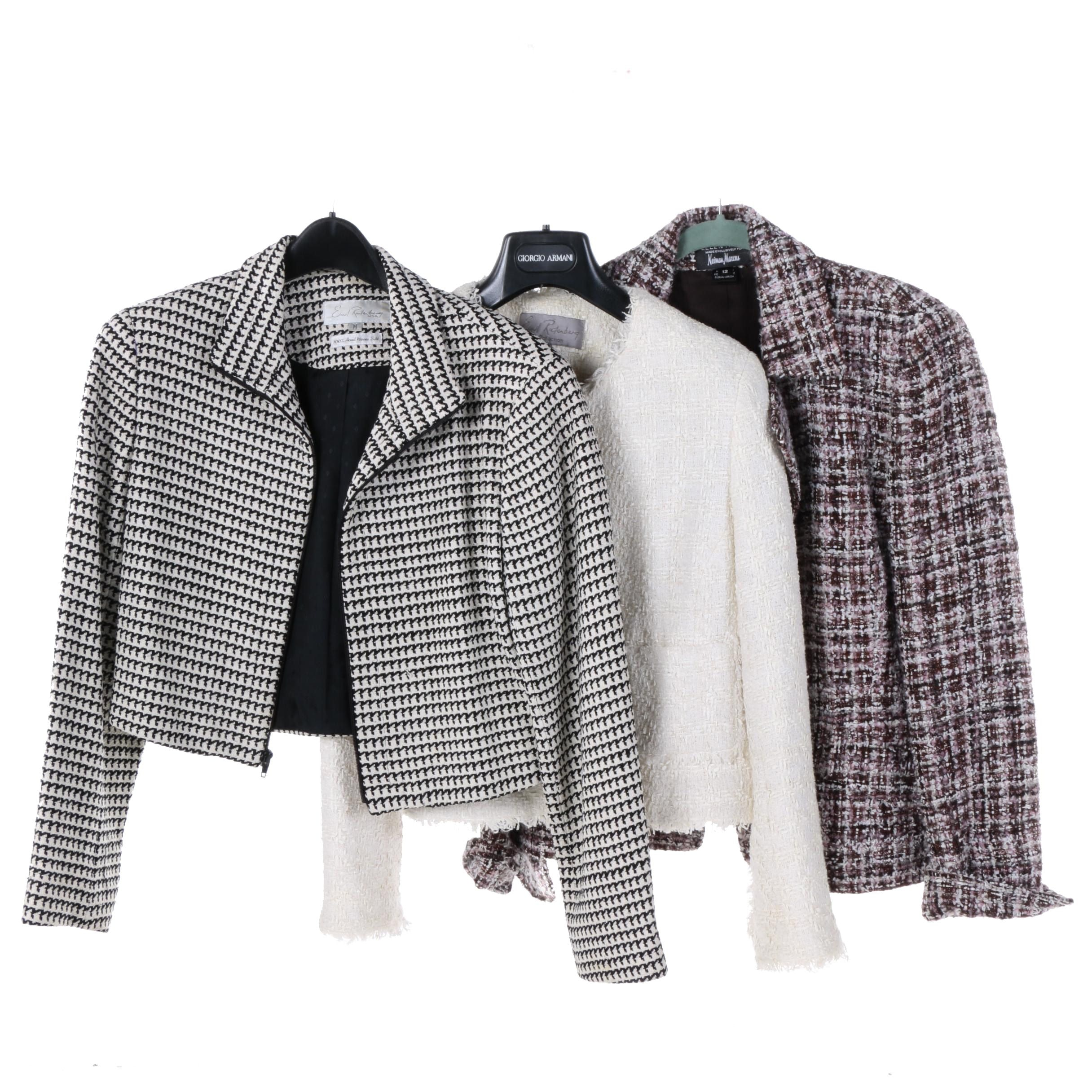 Women's Ellen Tracy Blazer and Emil Rutenberg Jackets