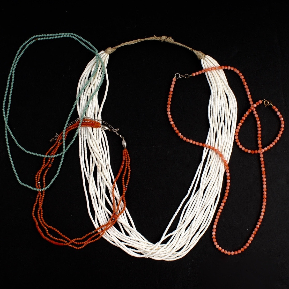 Collection of Beaded Necklaces