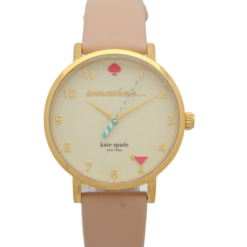 Kate Spade 5 O'Clock Metro Wristwatch
