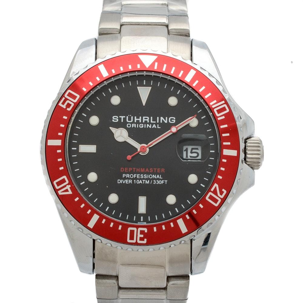 Stührling Original Depthmaster Professional Wristwatch