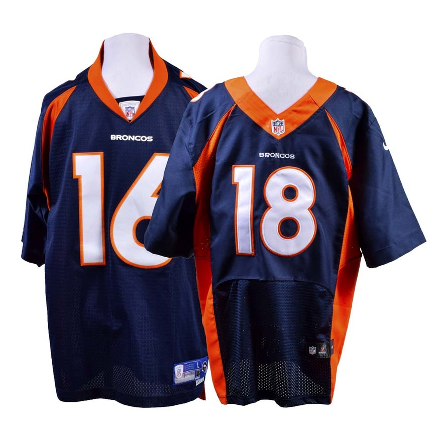 save off 286b2 077e6 Men's Denver Broncos Jerseys