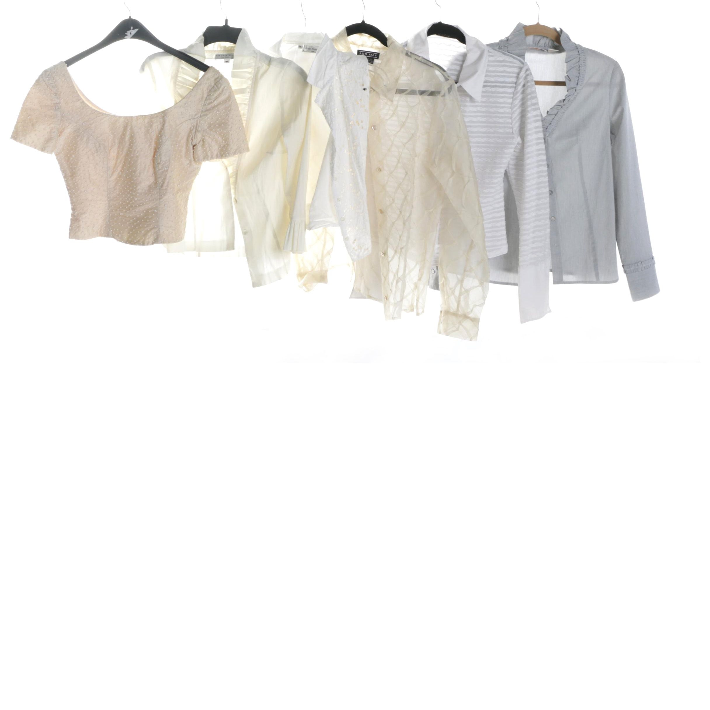 Women's Designer Blouses with Anne Fontaine Paris